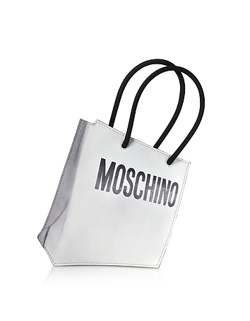 Moschino - Signature Mini Leather Clutch