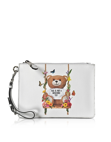 Teddy Bear Eco Leather Clutch xm130218-029-00