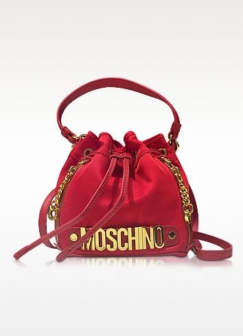 Moschino Красная Сумка из Ткани