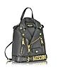 Dark Gray Nappa Leather Backpack - Moschino / モスキーノ