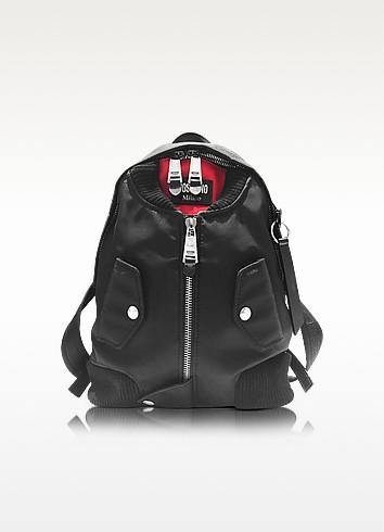 Moschino Черный Рюкзак из Ткани