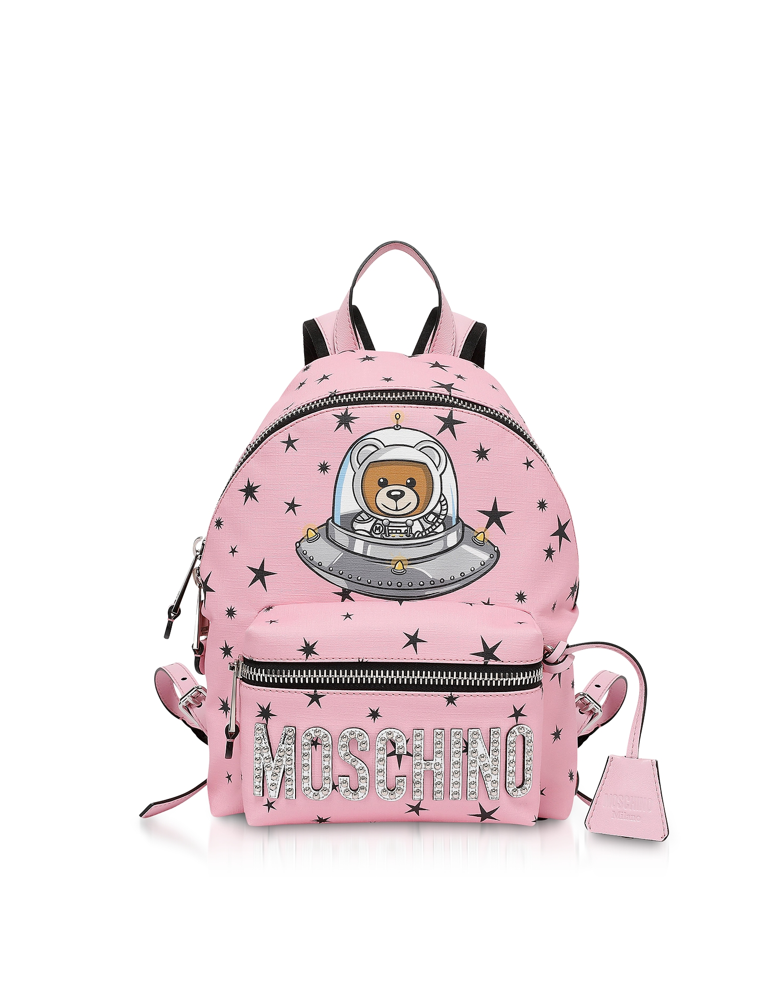 Moschino Handbags, Pink Space Teddy Bear Backpack