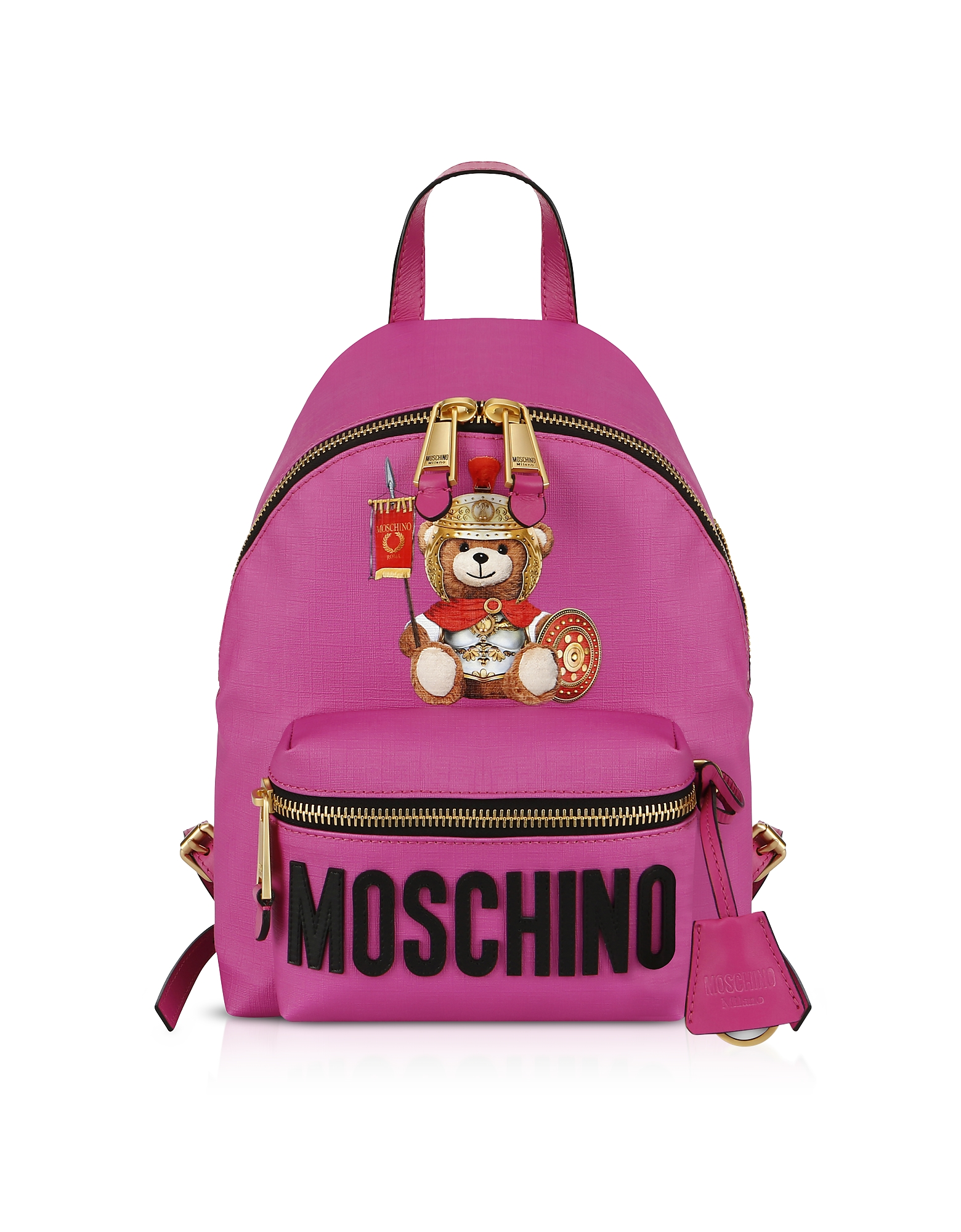 Moschino Designer Handbags, Teddy Bear Nylon Backpack