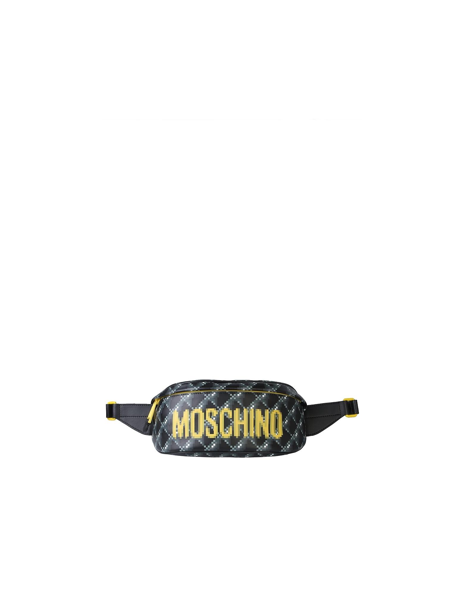 Moschino Designer Handbags, Logo Pouch