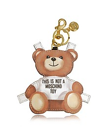 Teddy Bear Key Charm - Moschino