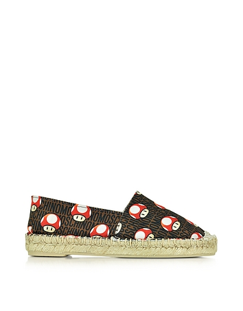Super Mushrooms Canvas Espadrille