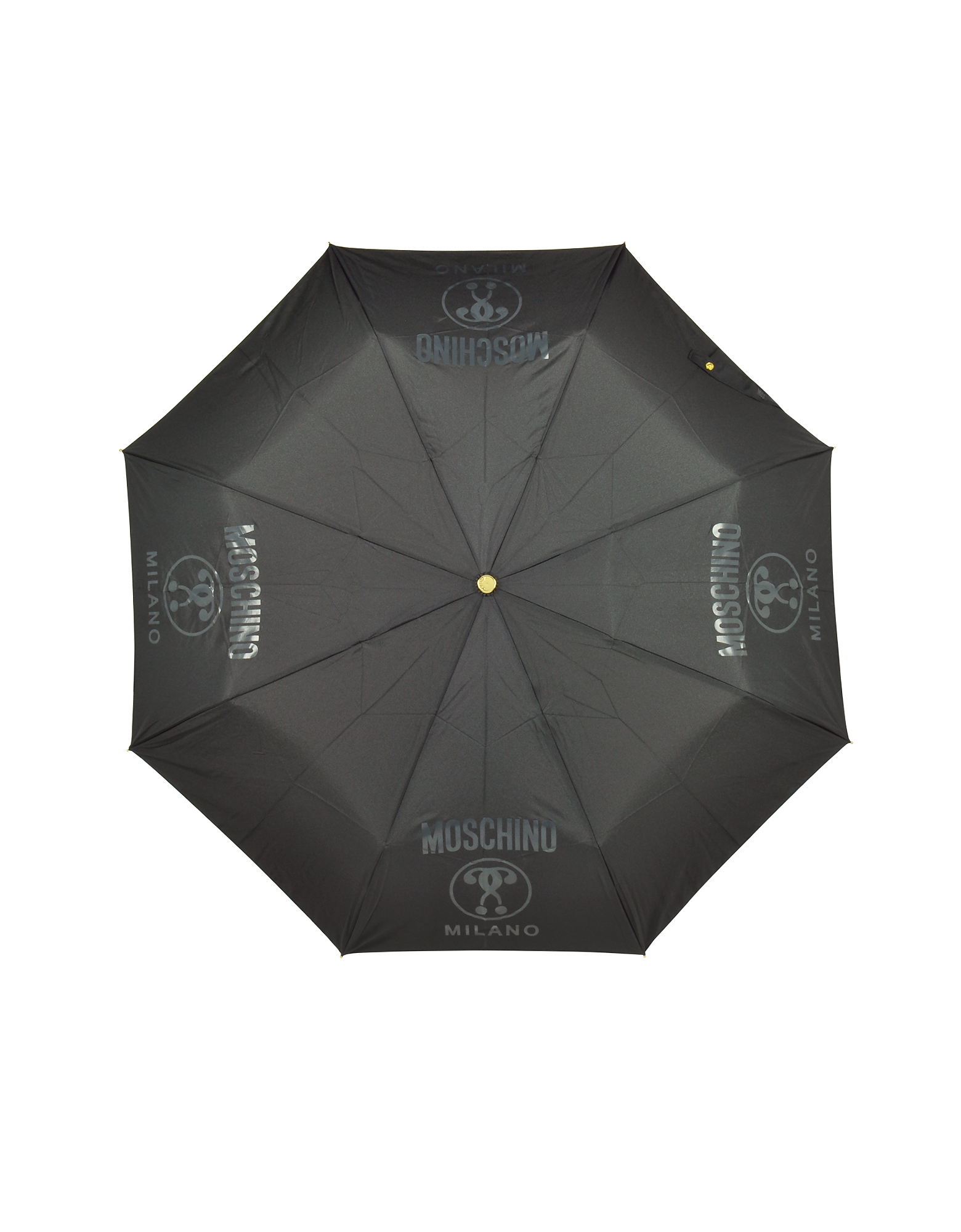 Metal Signature Black Mini Umbrella от Forzieri.com INT