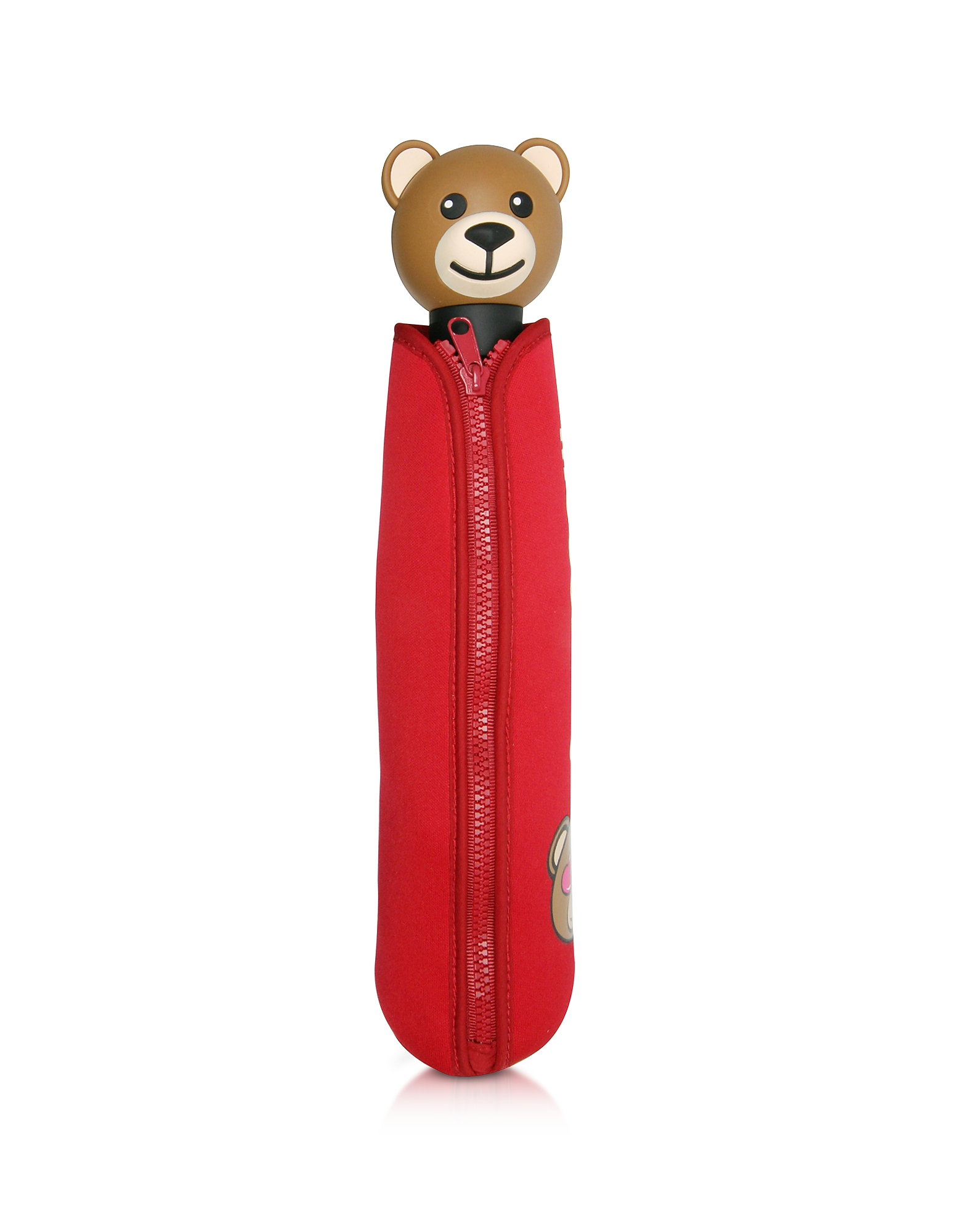Toy in Love Red Mini Umbrella w/Teddy Handle and Neoprene Pouch от Forzieri.com INT
