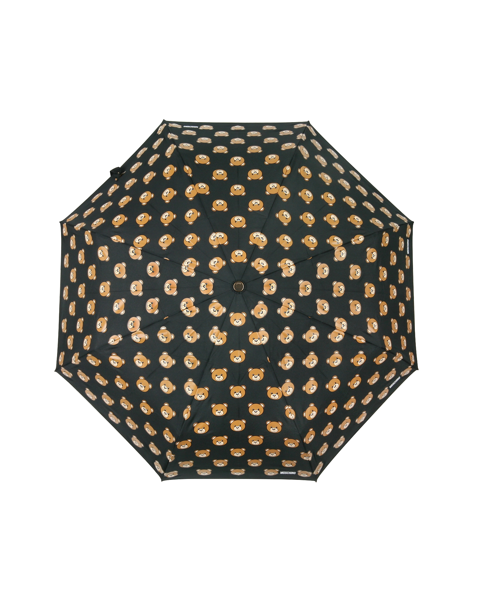 Teddy Heads Black Mini Umbrella от Forzieri.com INT