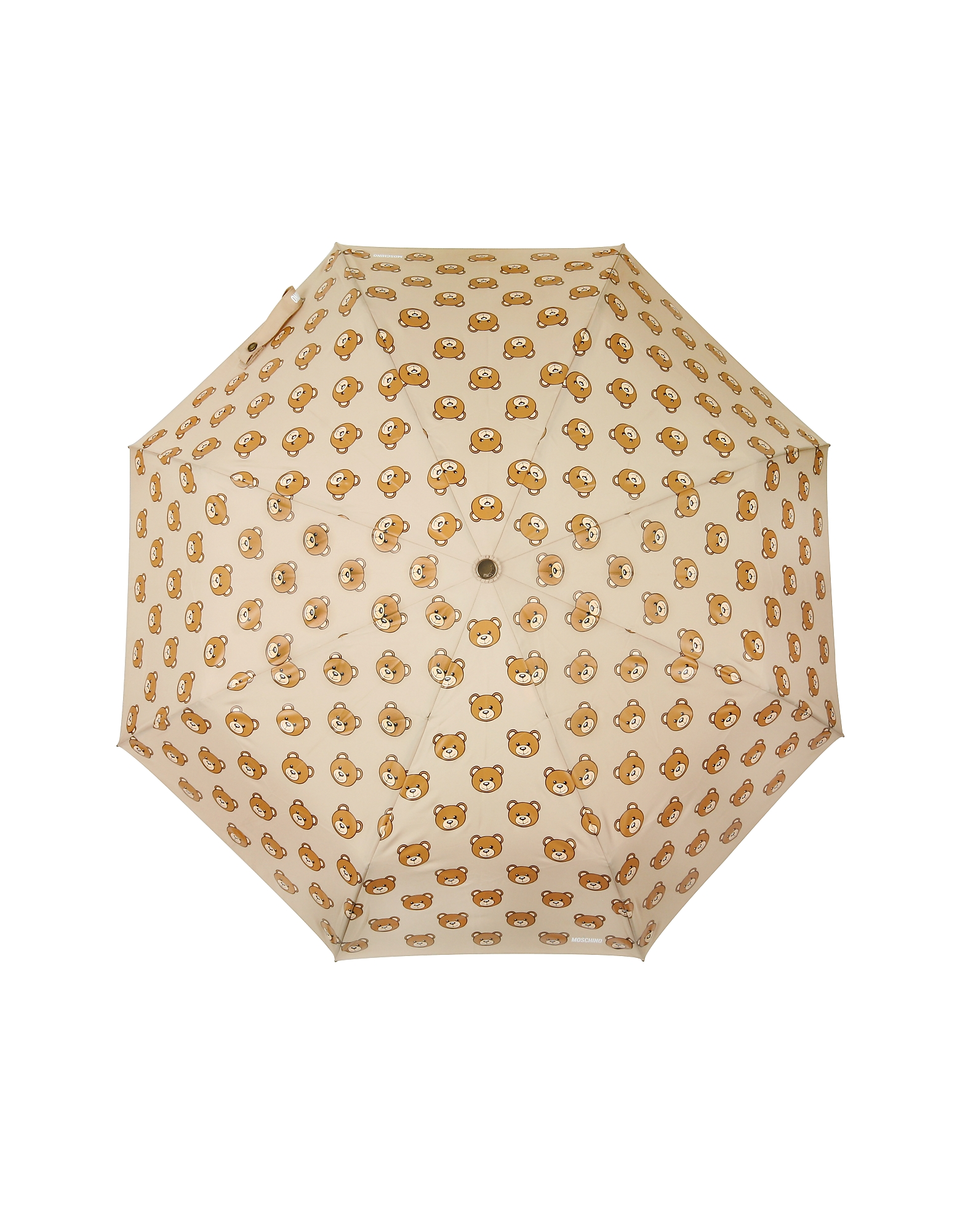 Teddy Heads Dark Beige Mini Umbrella от Forzieri.com INT