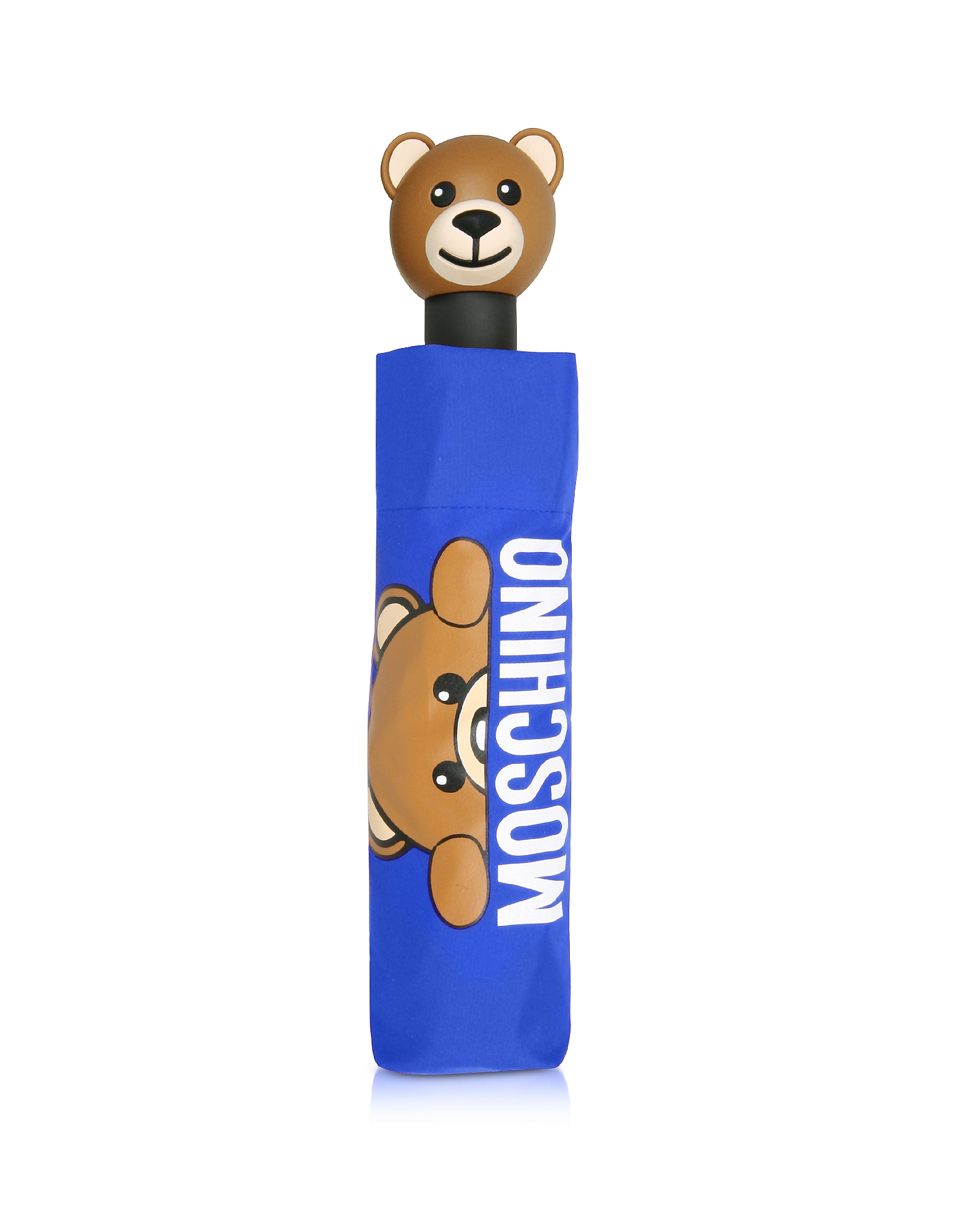 Hidden Teddy Bear Blue Umbrella