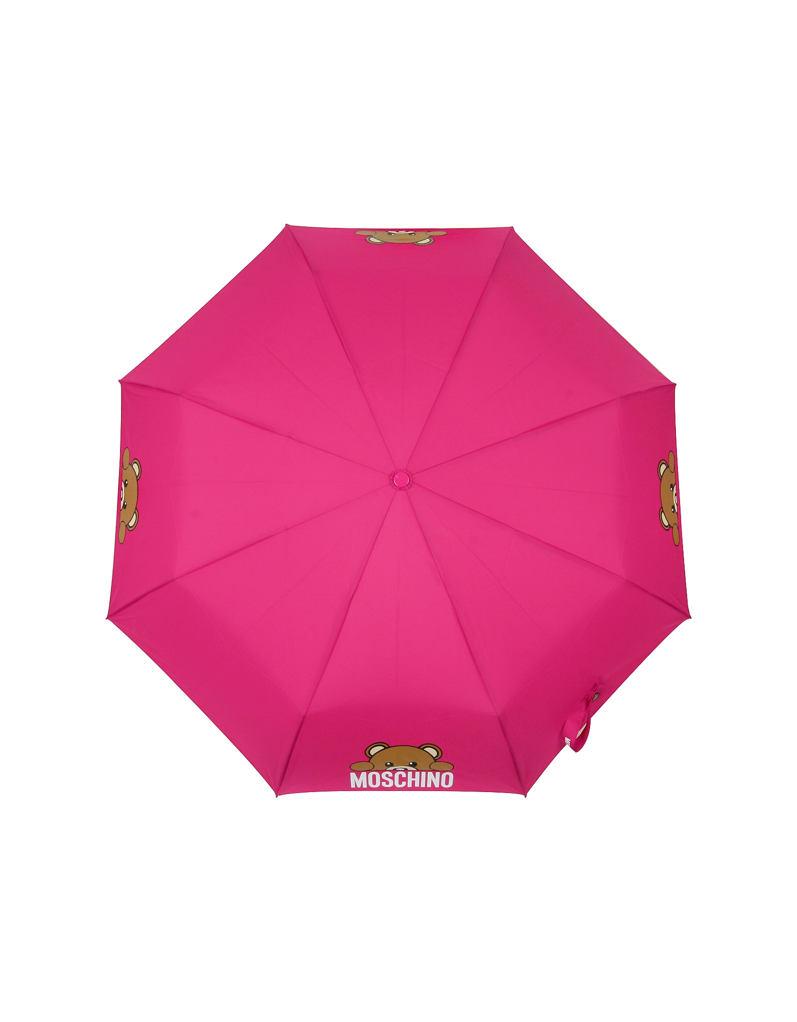 Hidden Teddy Bear Fuchsia Umbrella от Forzieri.com INT