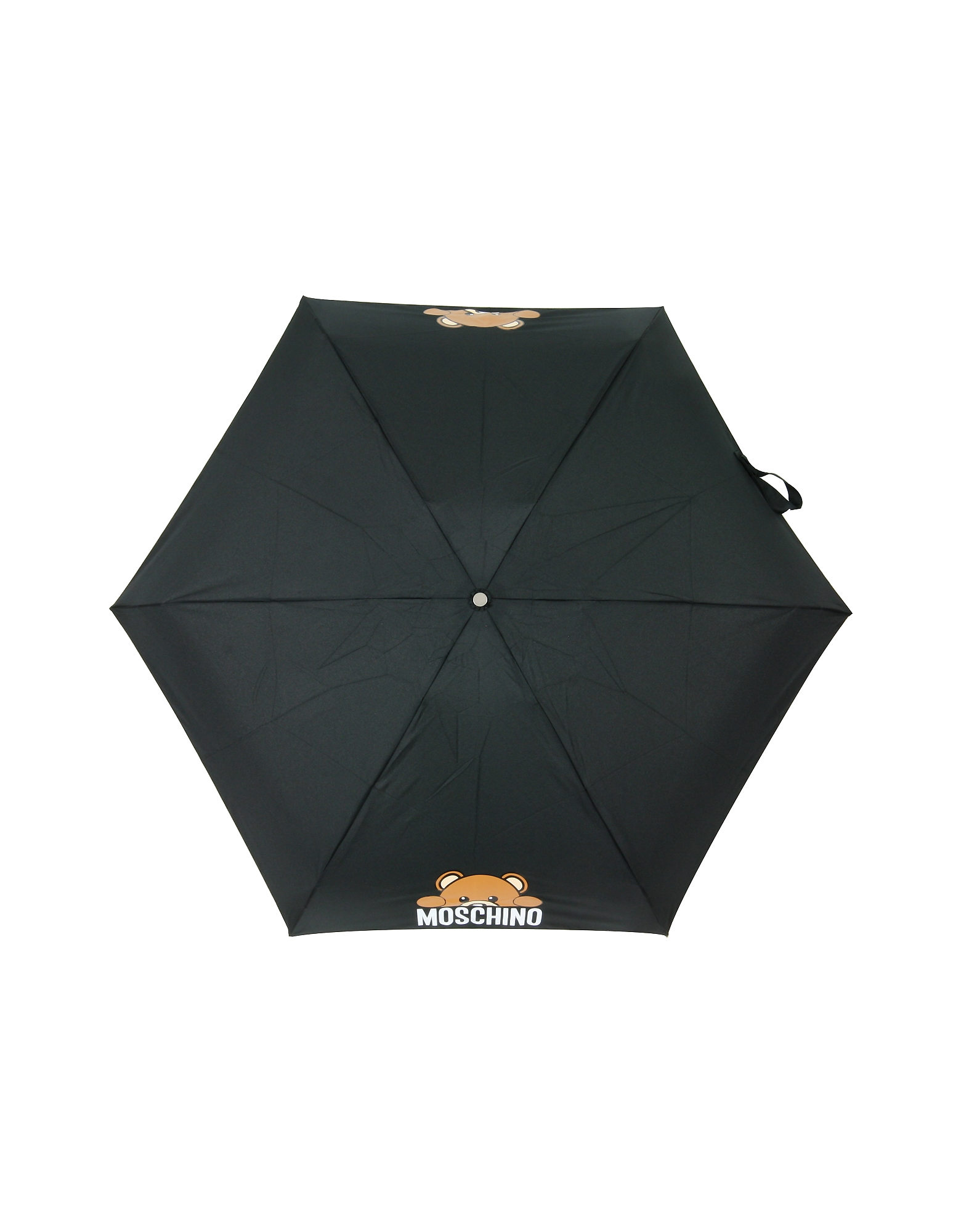 Hidden Teddy Bear Black Supermini Umbrella от Forzieri.com INT
