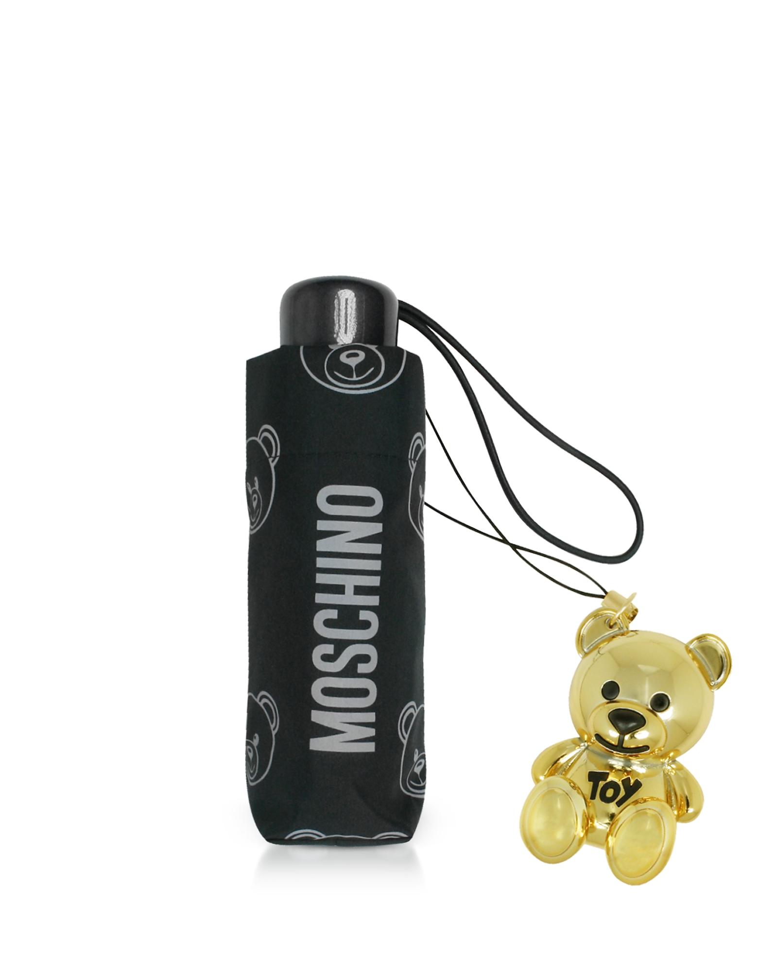 Teddy Bear Supermini Umbrella w/Golden Charm