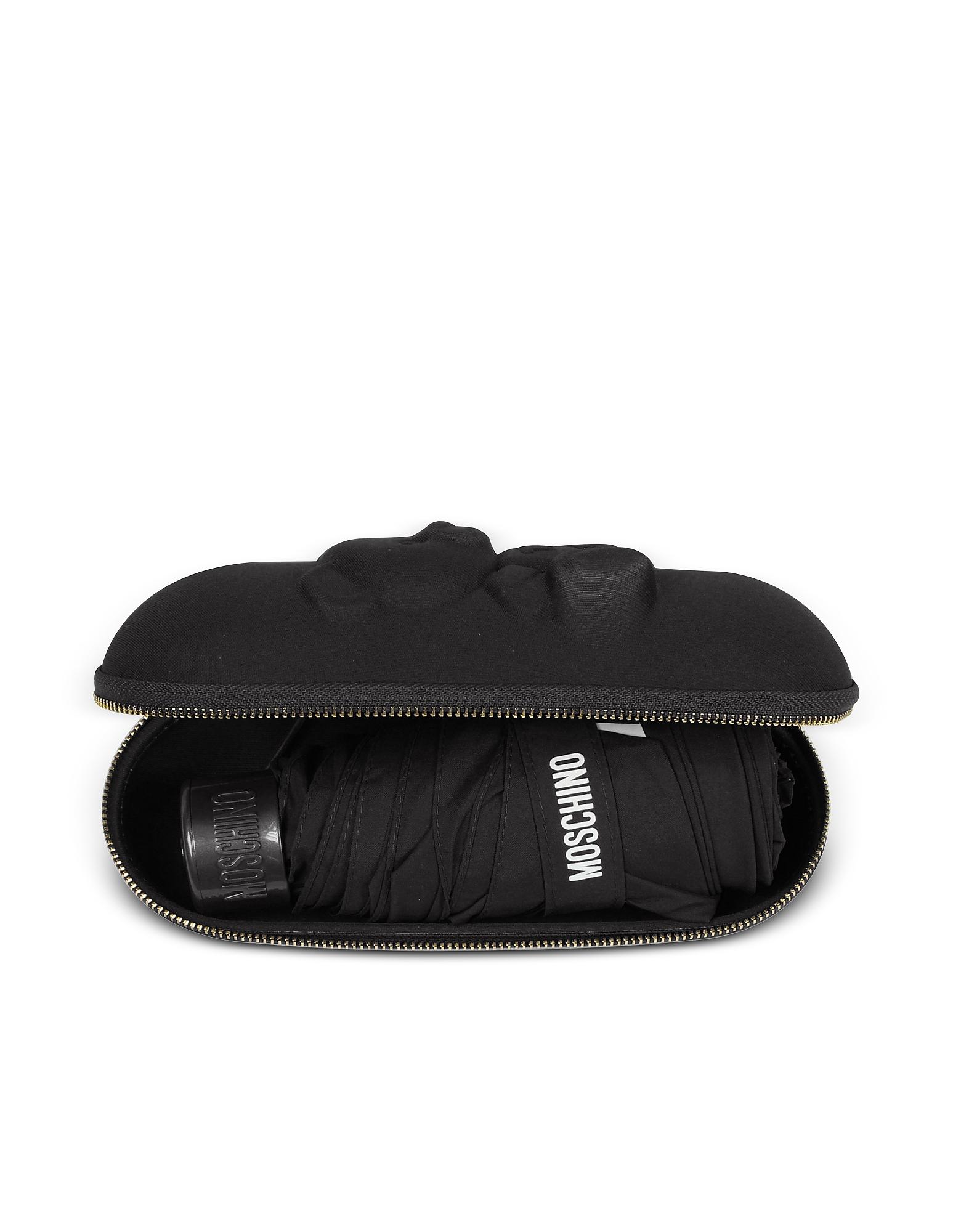 Moschino Designer Umbrellas, Shadow Bear SuperMini Umbrella