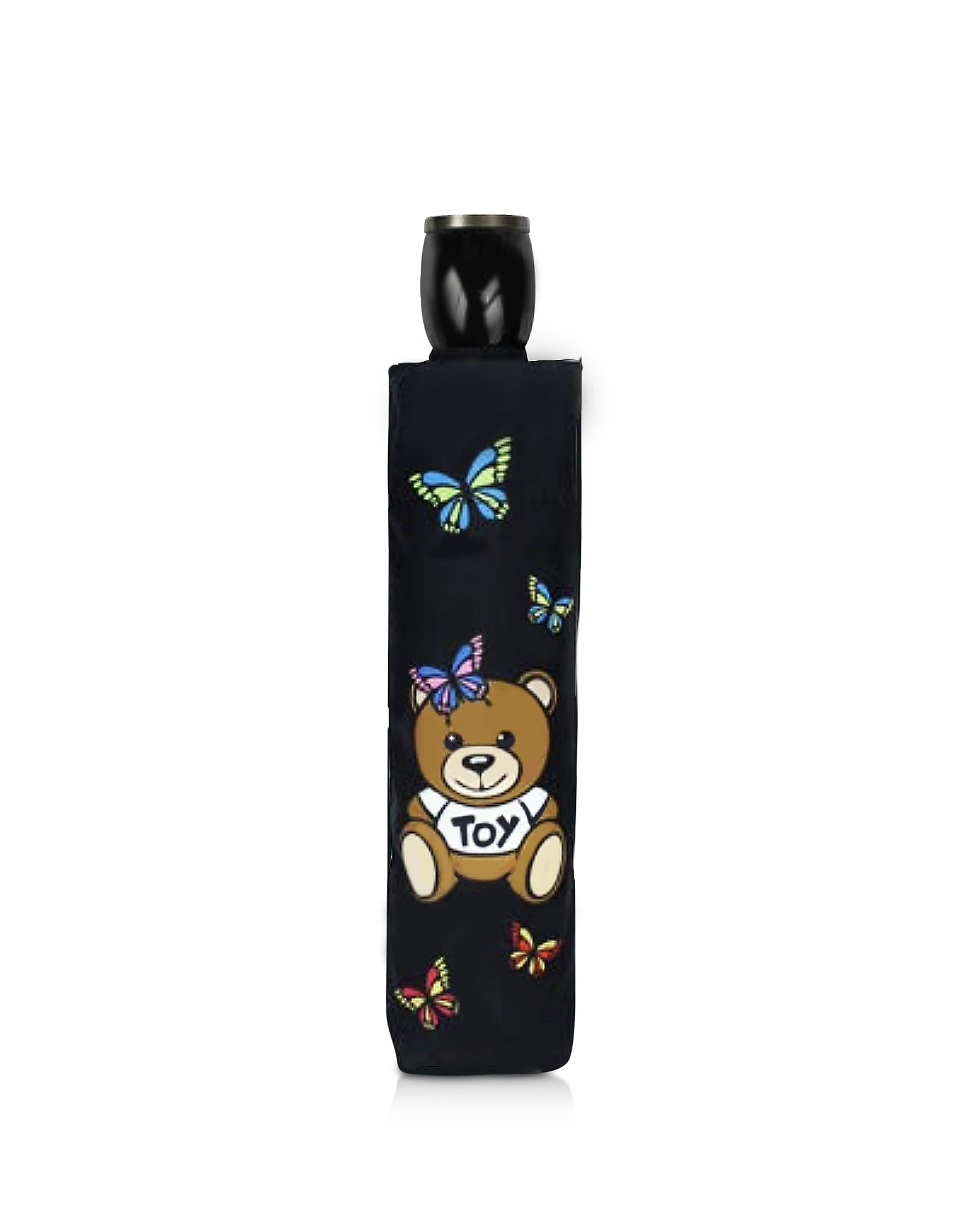 Butterfly Bear Supermini Umbrella, Black