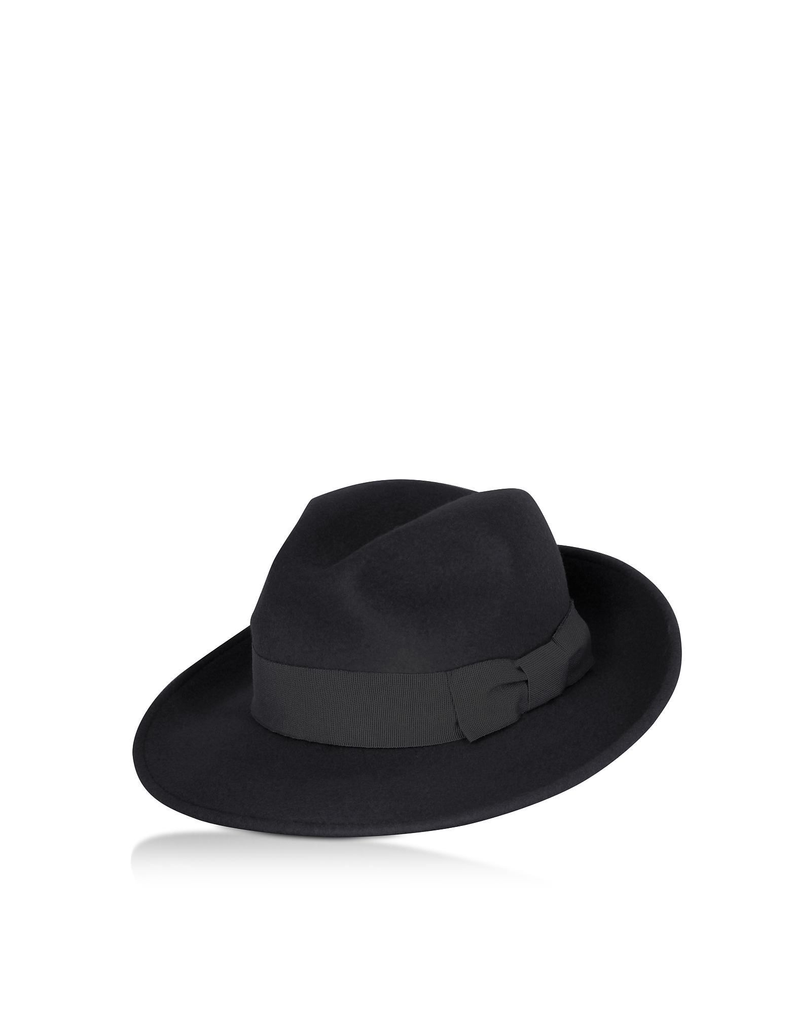Black Brunico Hat