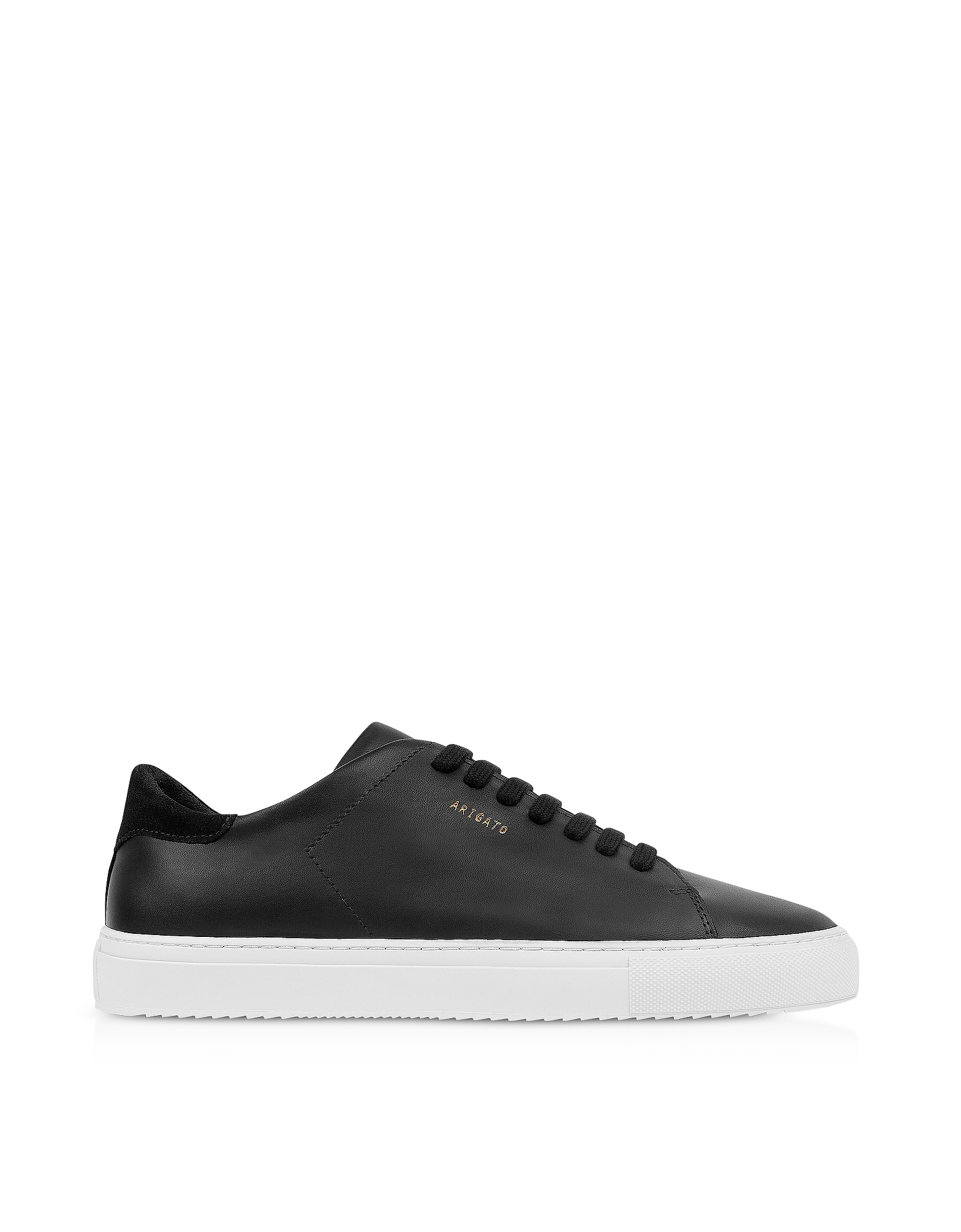 Clean 90 Black Leather Women's Sneakers