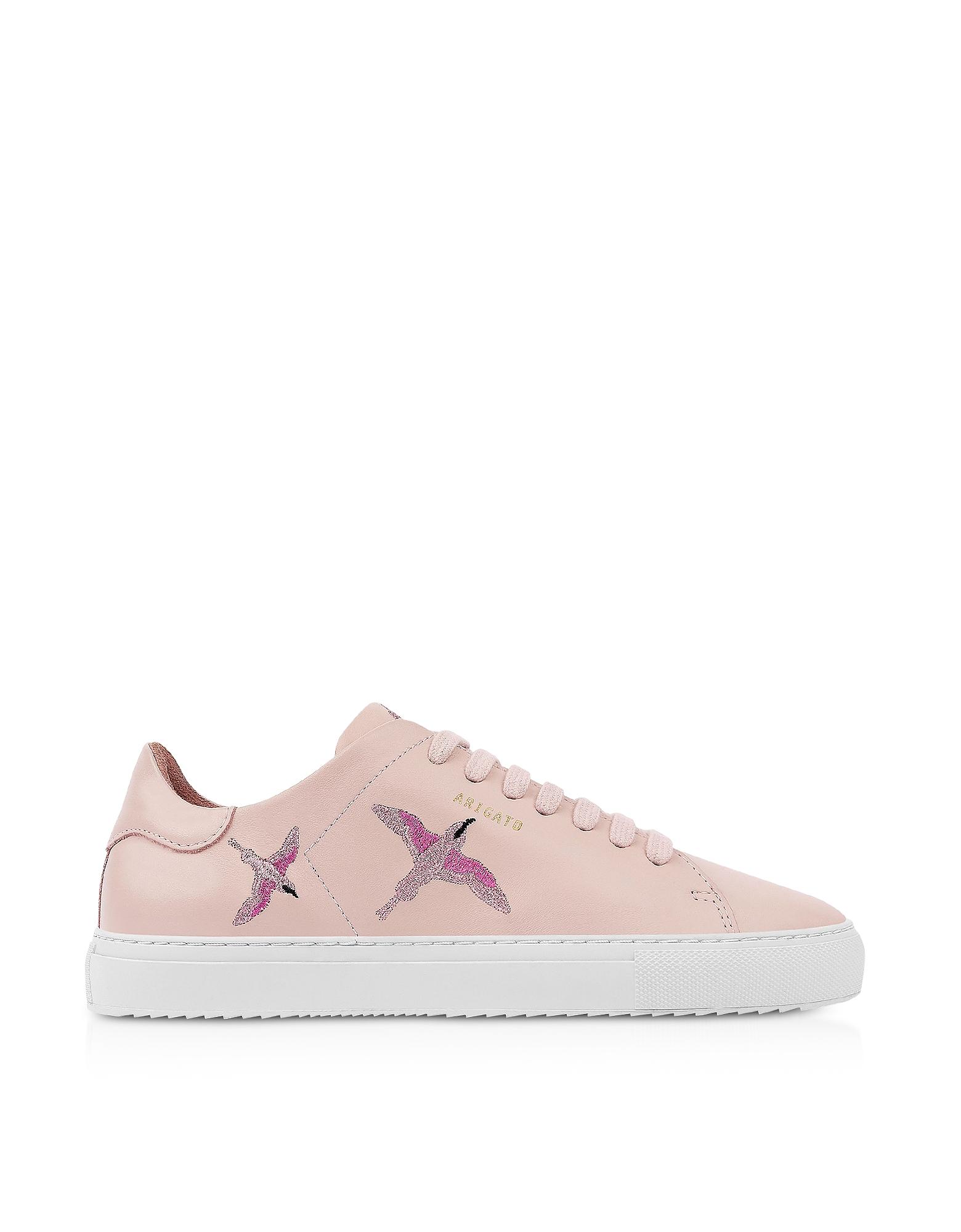 Clean 90 Bird Dusty Pink Leather Women's Sneakers