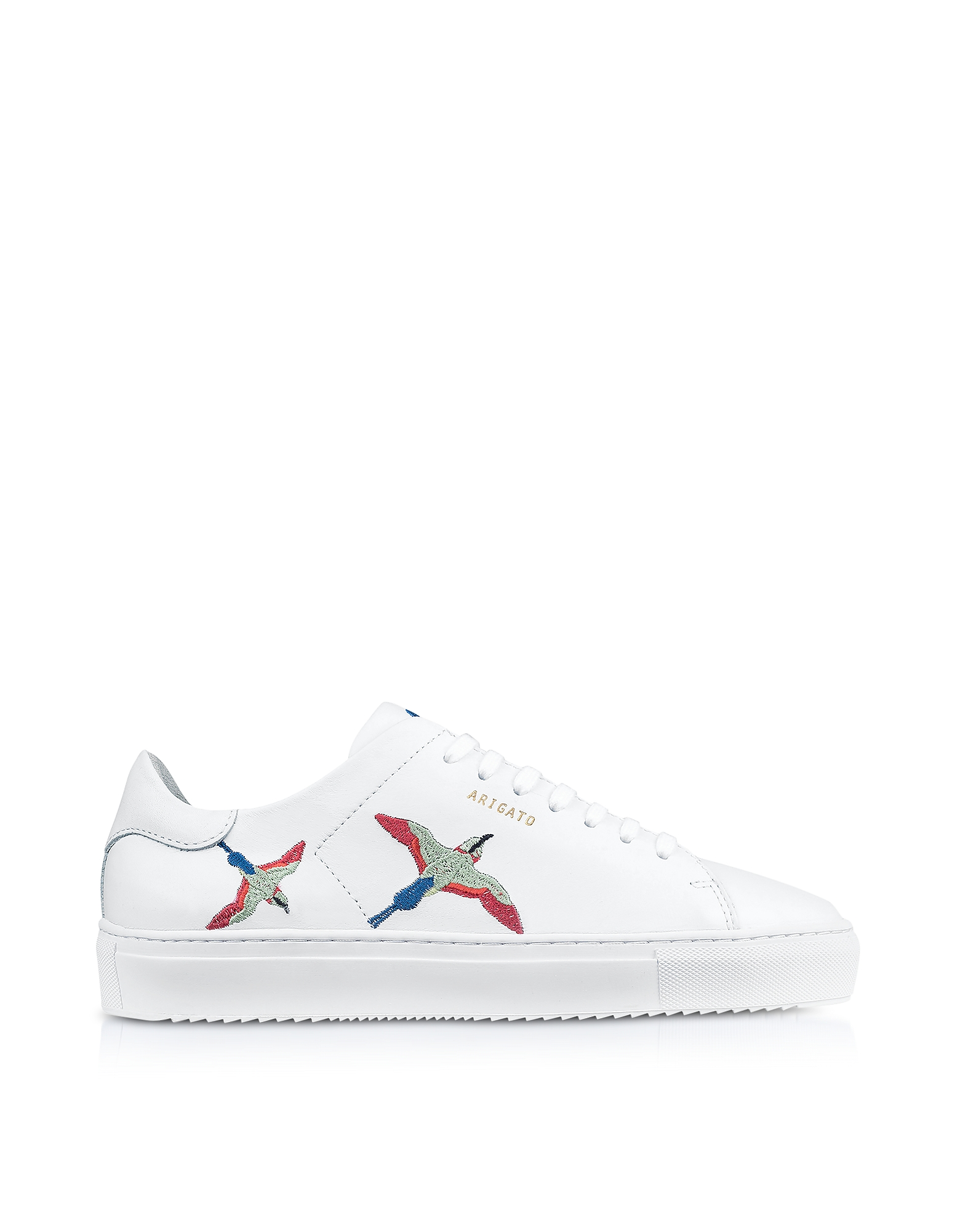 Clean 90 Bird White Leather Women's Sneakers