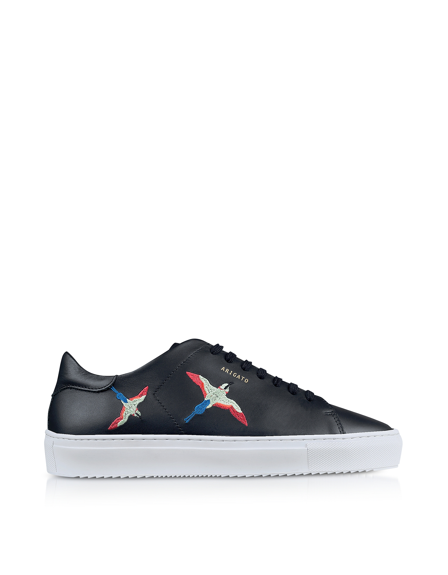 Clean 90 Black Leather Men's Sneakers
