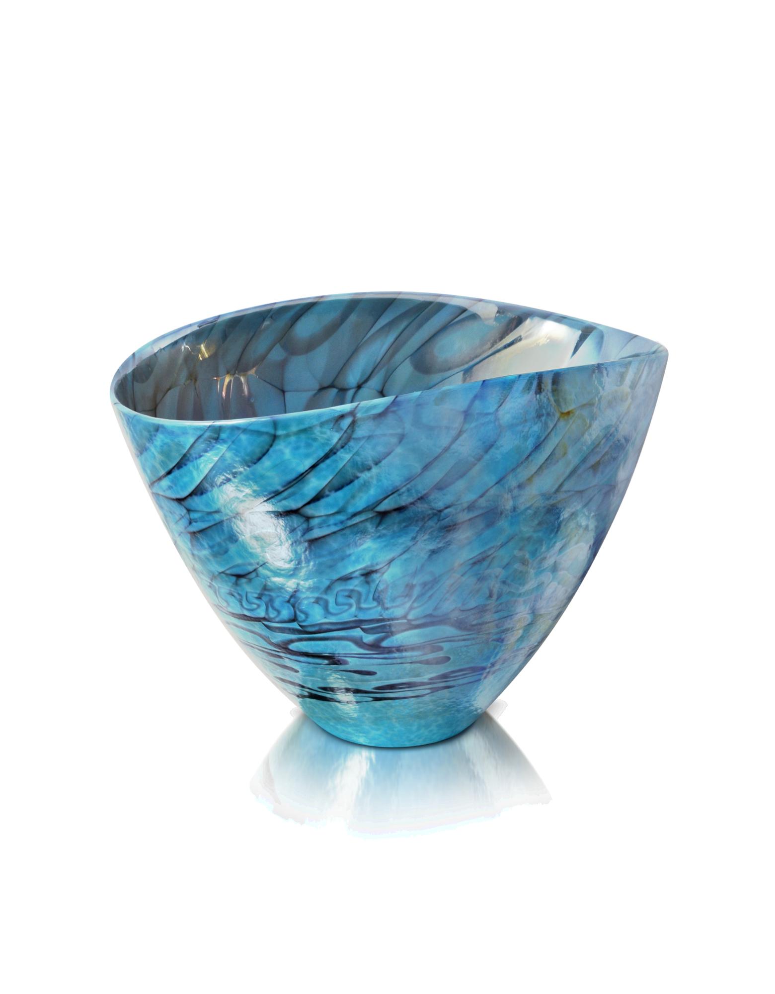Image of Belus - Turquoise Murano Glass Vase