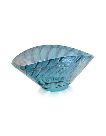 Yalos Murano - Belus - Turquoise Murano Glass Centerpiece