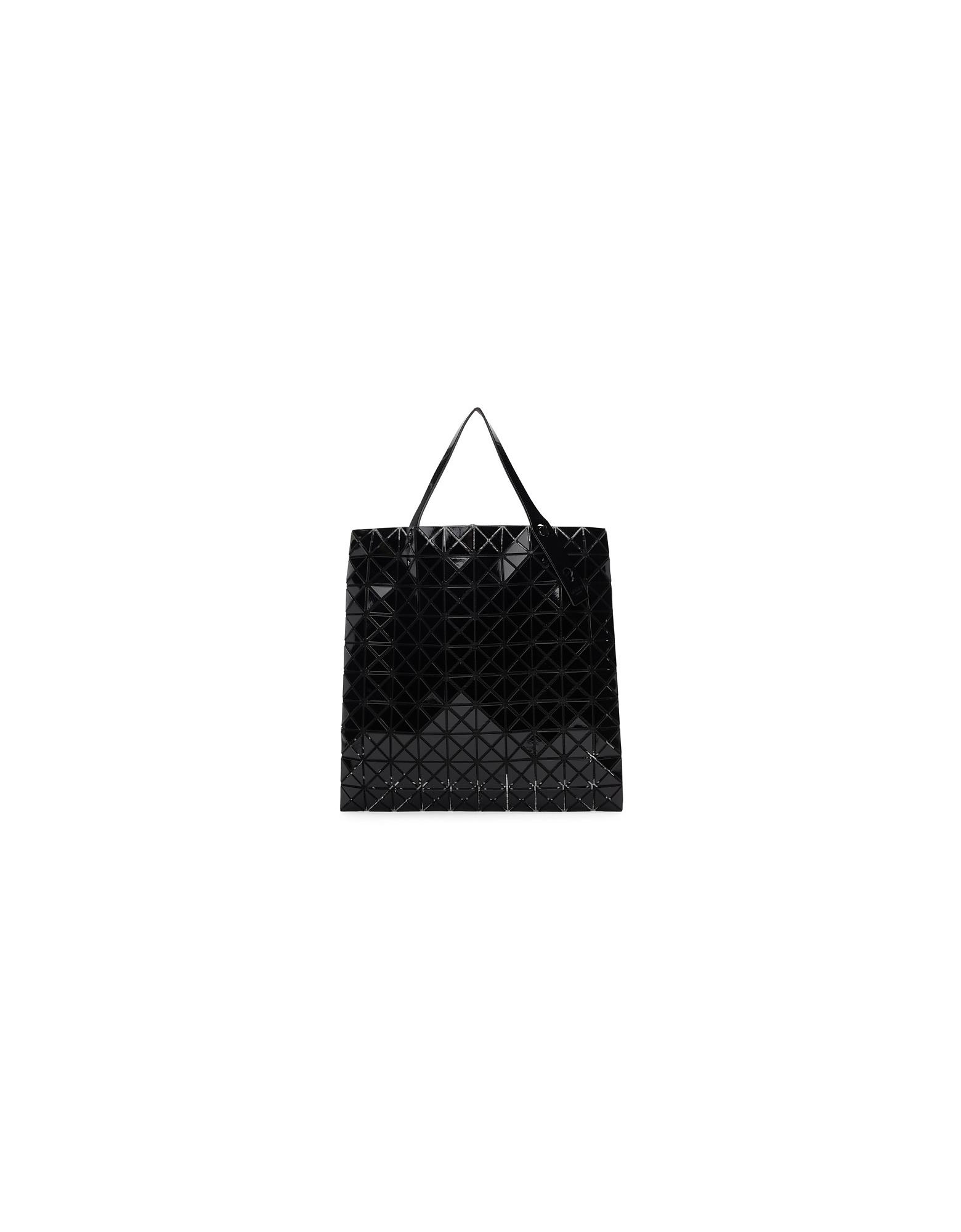 Issey Miyake Designer Handbags, Black East/West Tote