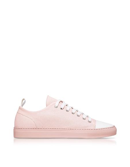 Image of Ylati Sorrento Sneakers da Uomo Low Top in Pelle Traforata Rosa