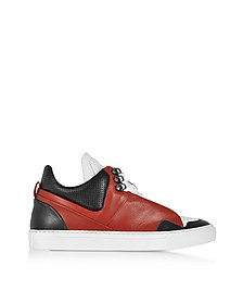 Poseidon Upper - Sneakers Homme en Cuir Color Block - Ylati