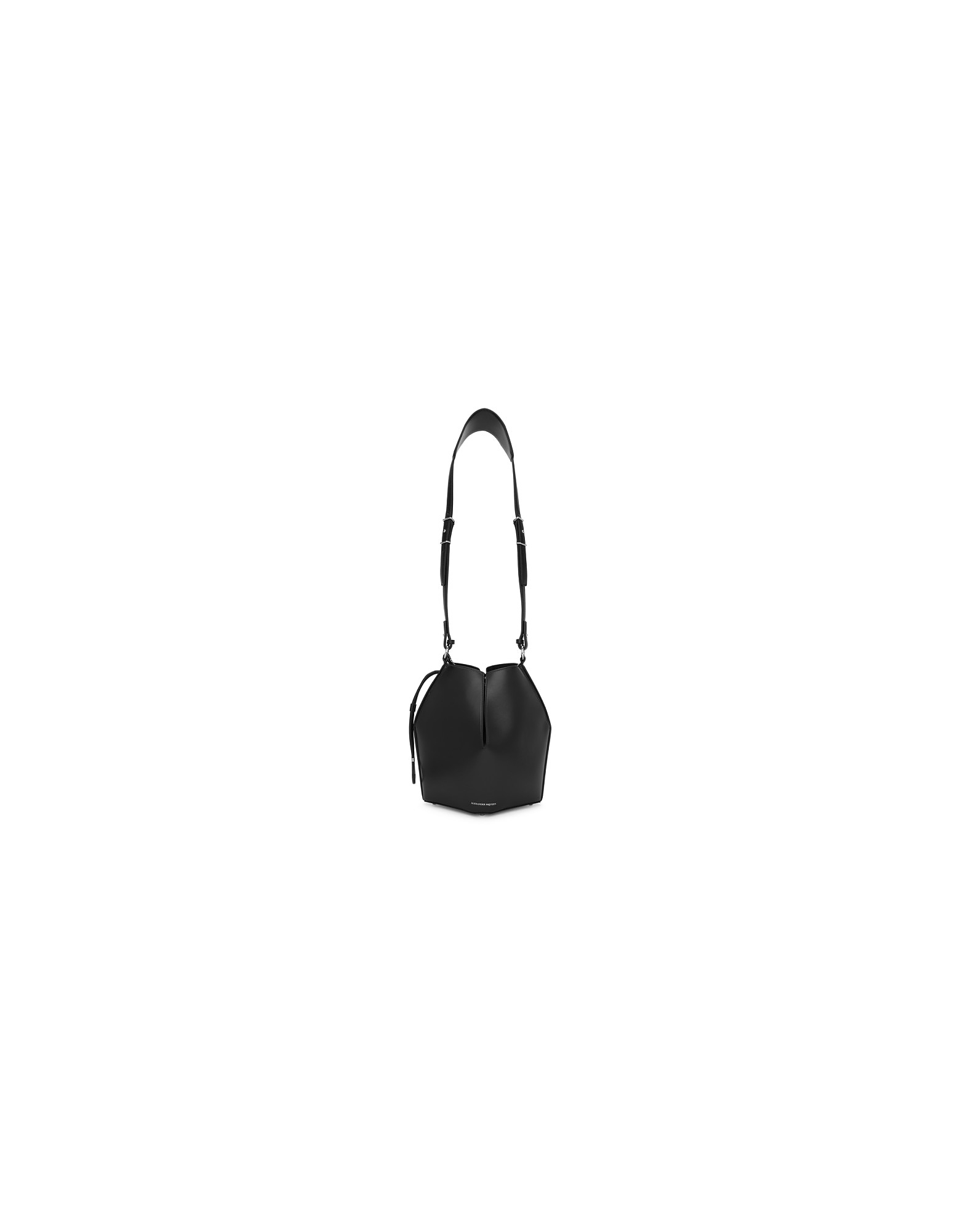 Alexander McQueen Designer Handbags, Black Bucket Shoulder Bag