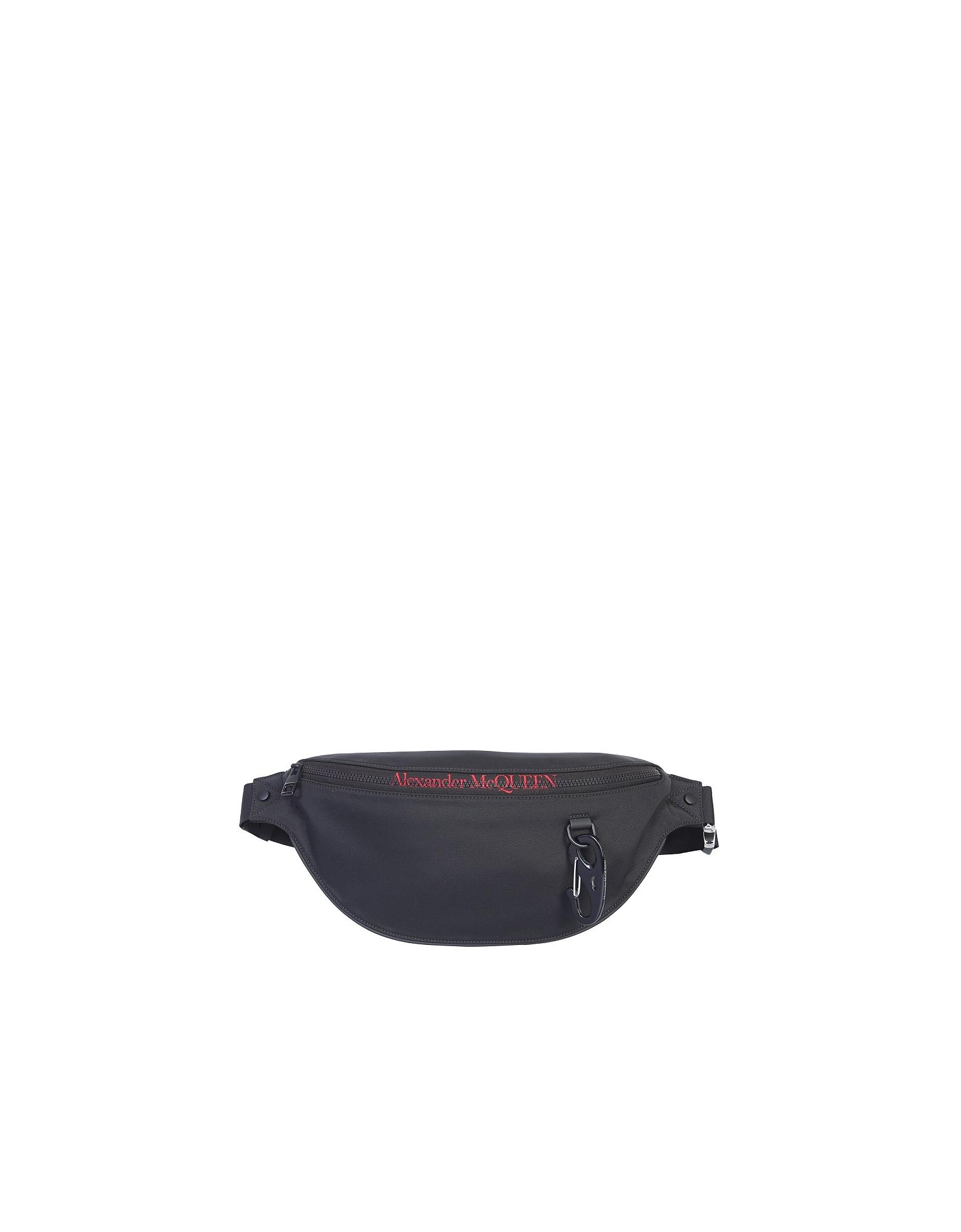 Alexander McQueen Designer Men's Bags, Pouch With Logo
