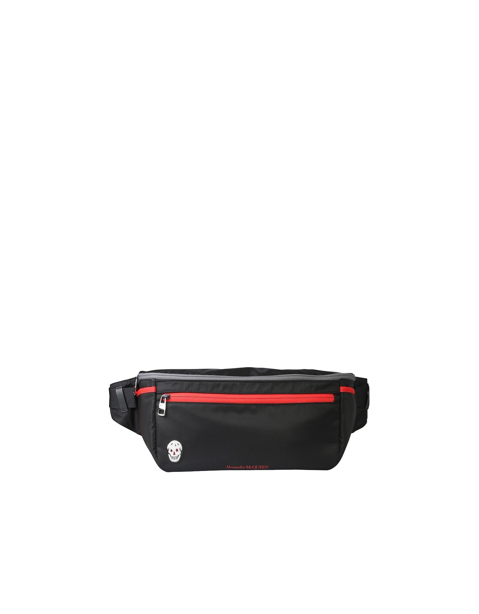 Alexander McQueen Designer Men's Bags, Oversize Pouch