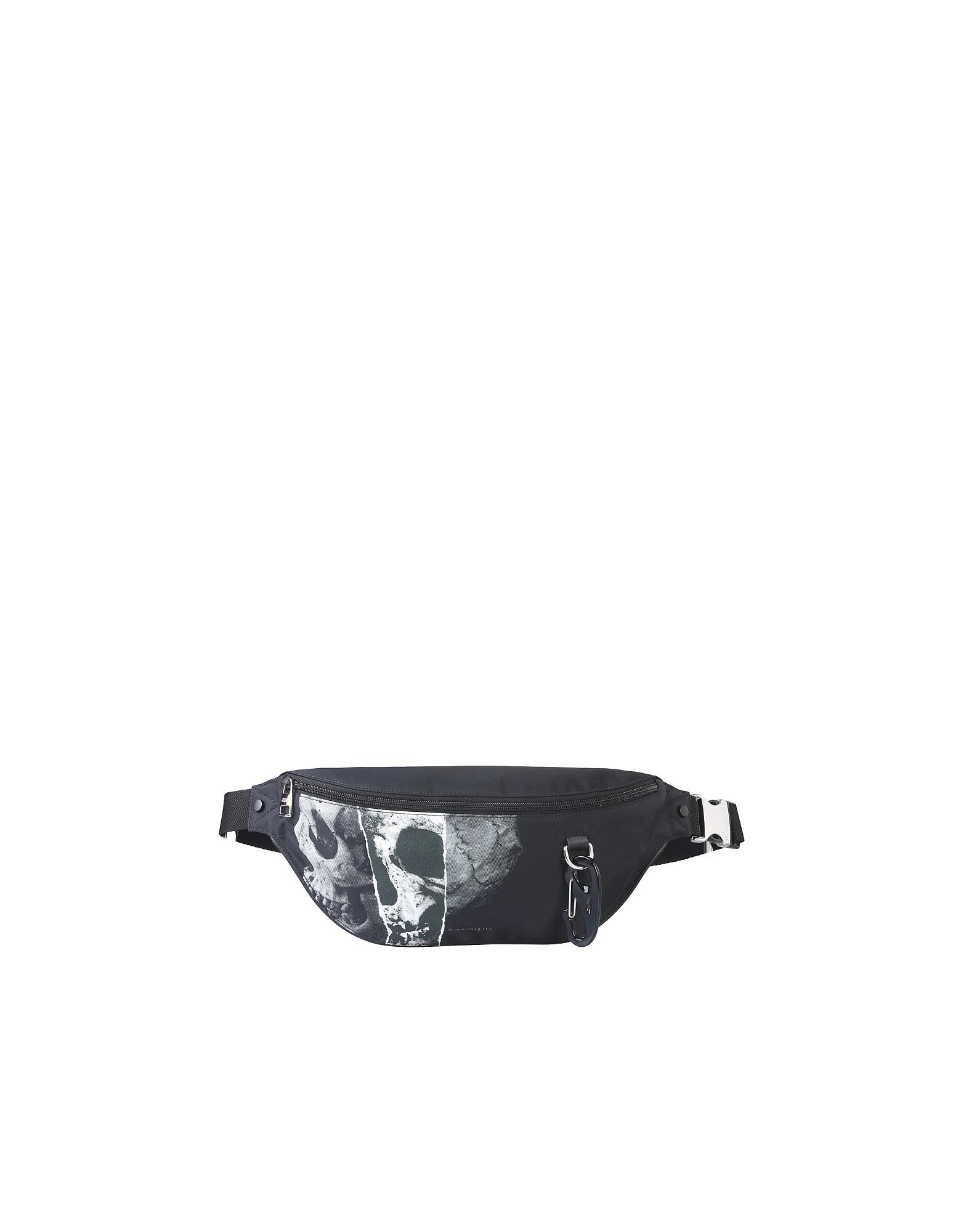 Alexander McQueen Designer Men's Bags, Skull Pouch