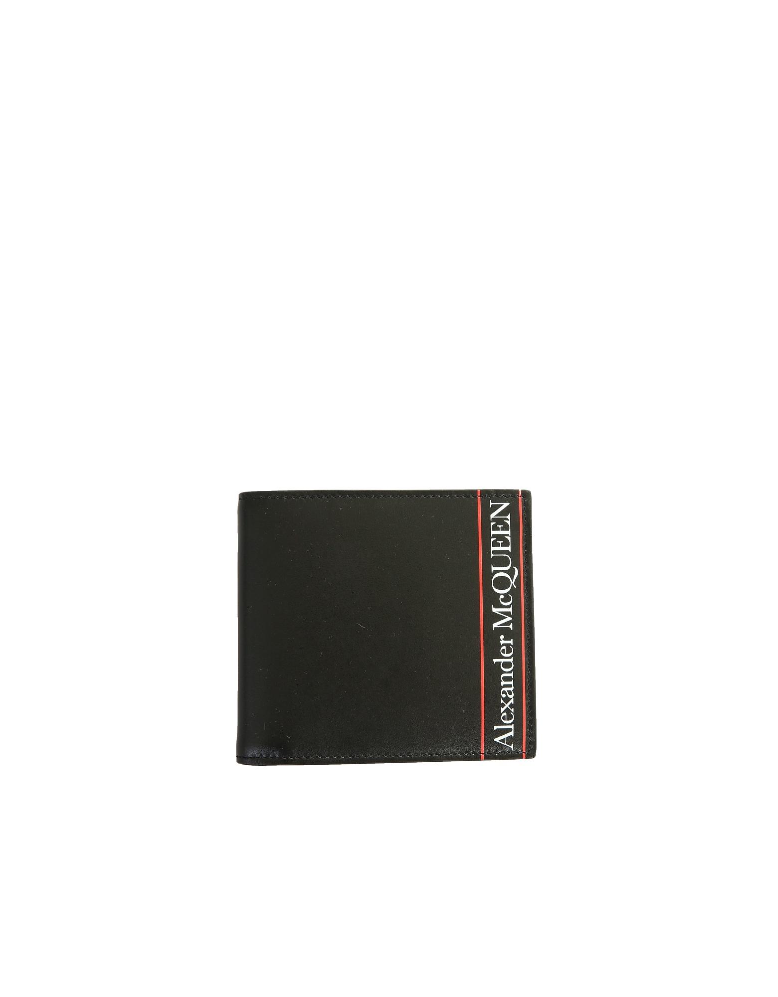 Alexander McQueen Designer Men's Bags, Bifold Wallet