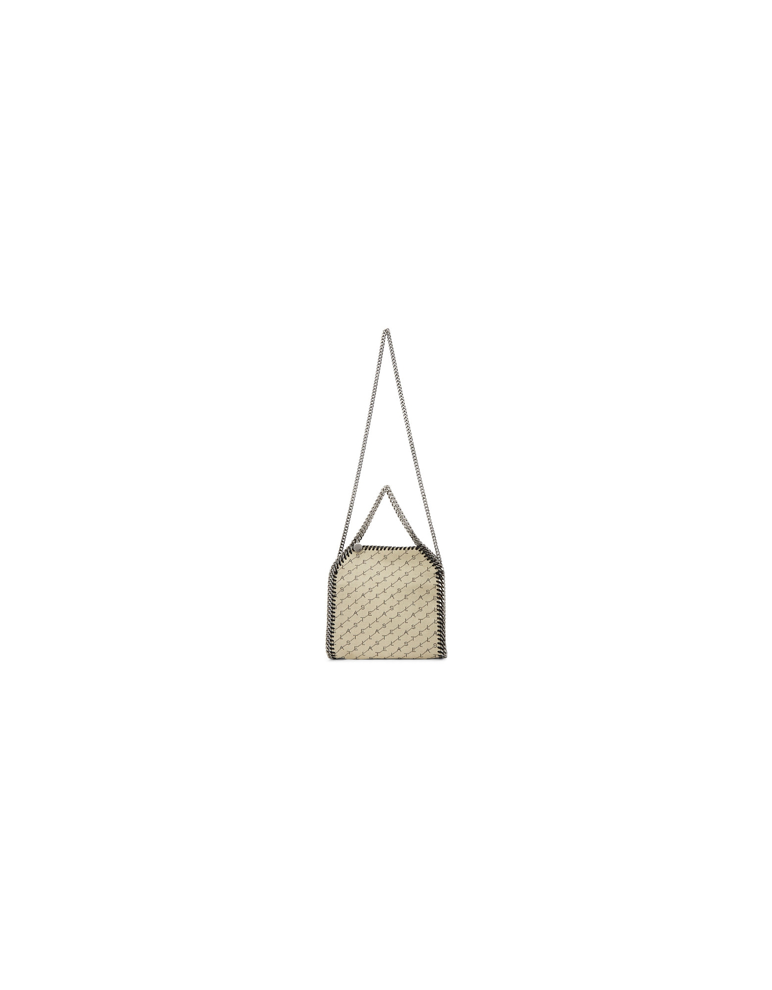 Stella McCartney Designer Handbags, Beige Mini Falabella Monogram Tote