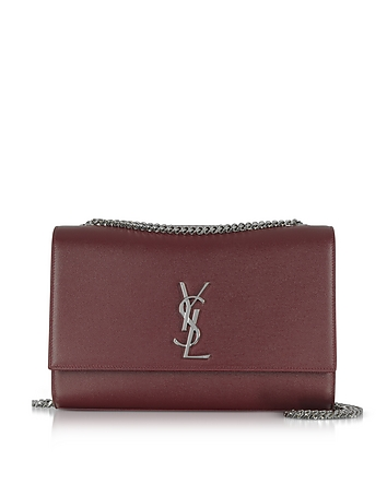 Saint Laurent - Kate Large Palissandre Leather Shoulder Bag