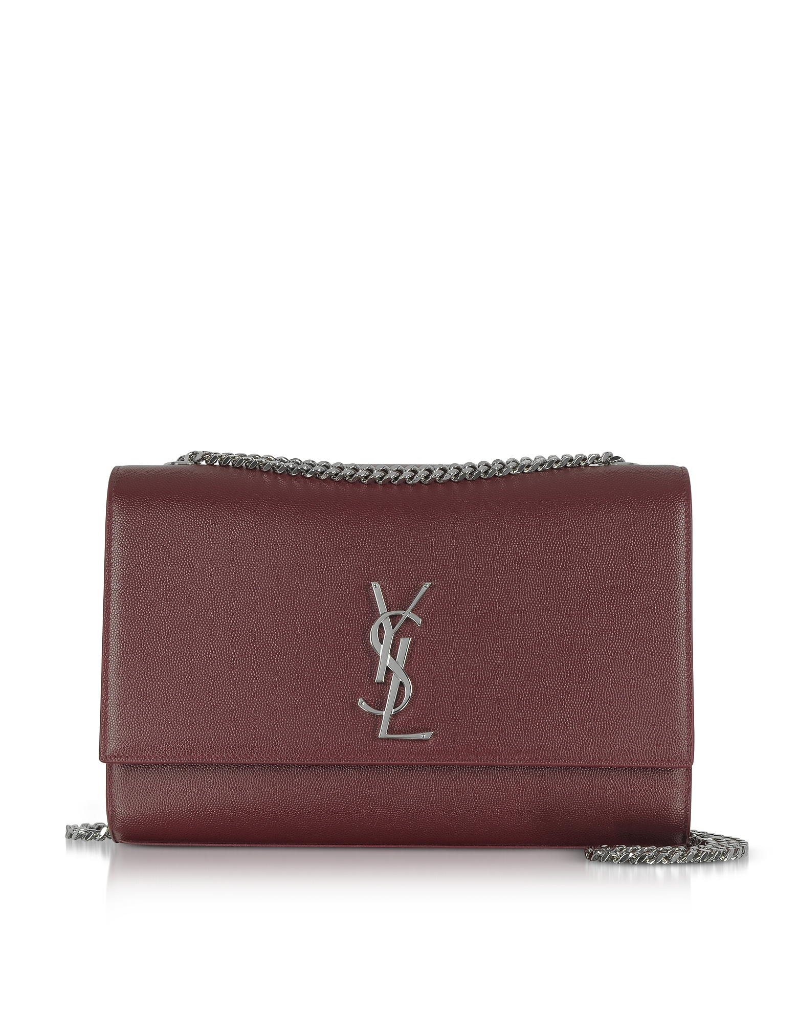 Saint Laurent Handbags, Kate Large Palissandre Leather Shoulder Bag