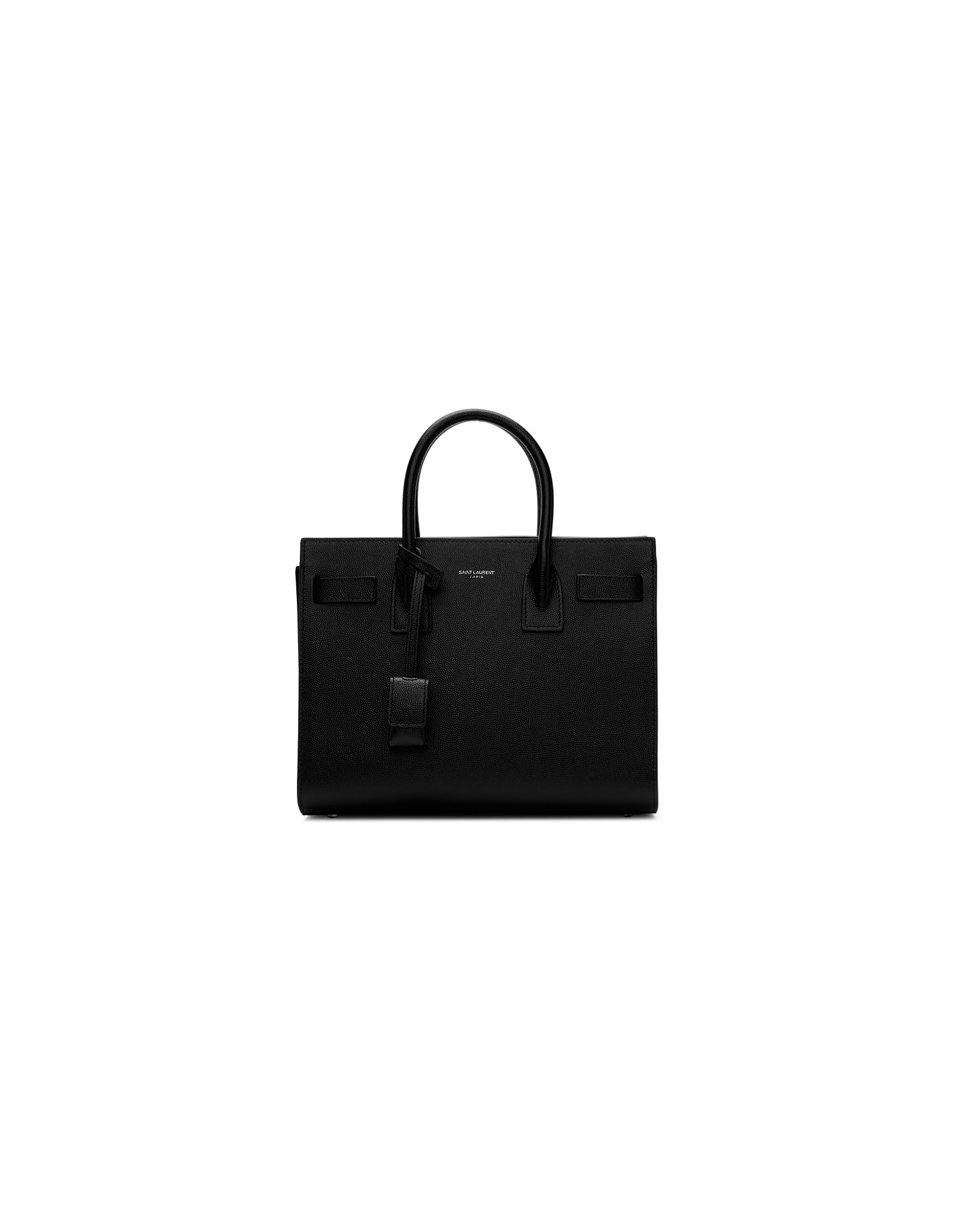 Saint Laurent Designer Handbags, Black Baby Sac De Jour Tote