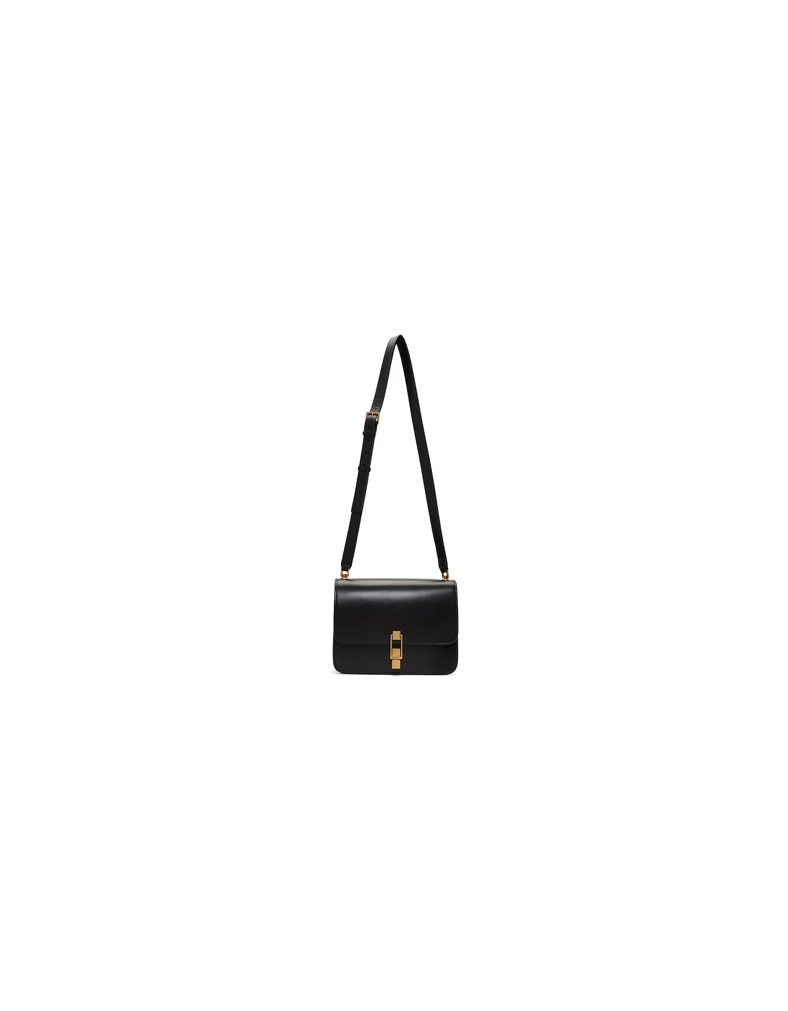 Saint Laurent Designer Handbags, Black Carre Satchel Bag