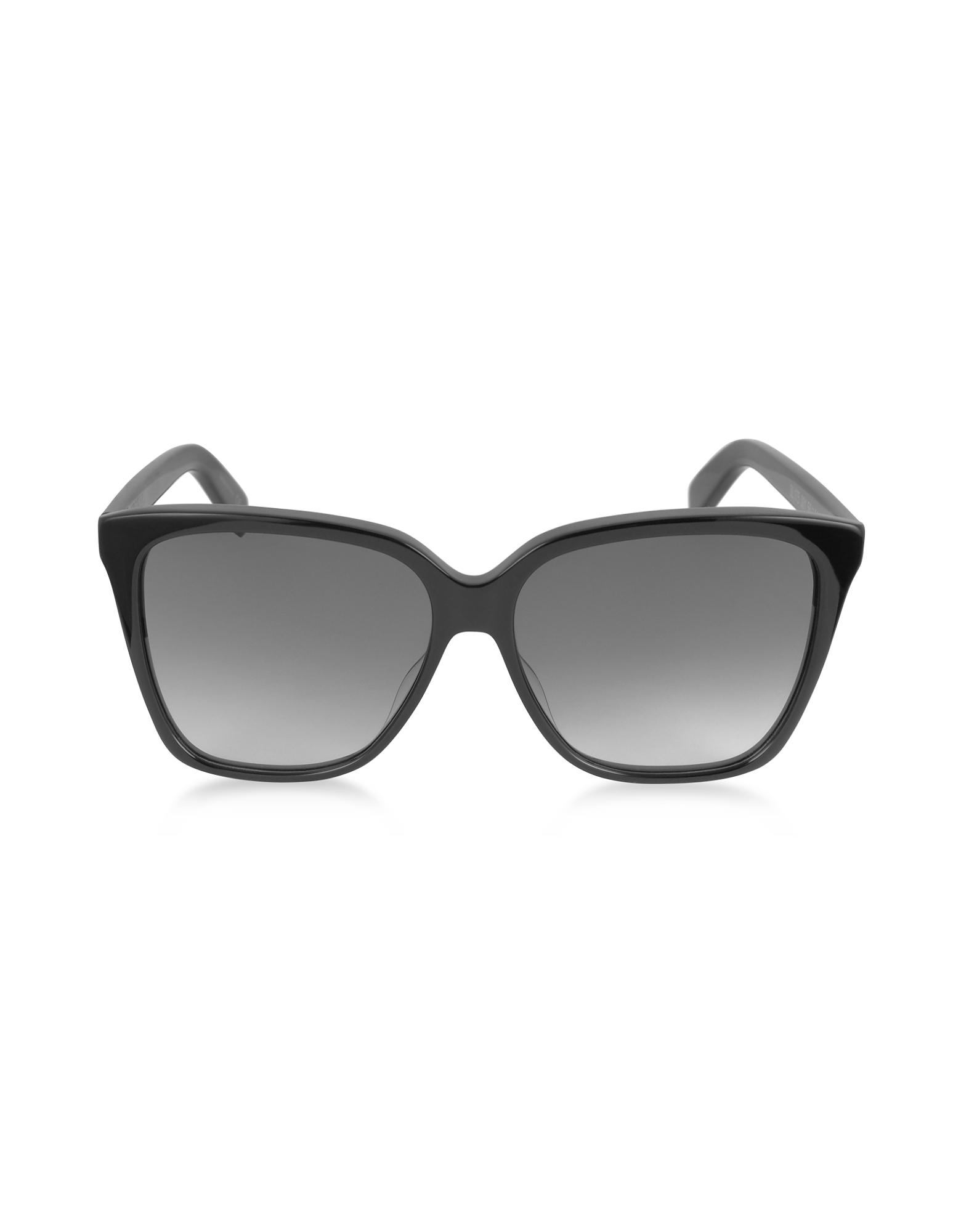 Saint Laurent Sunglasses, SL 175 Large Square-Frame Acetate Women's Sunglasses