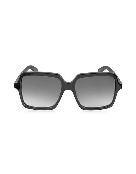 Saint Laurent SL 174 Damen-Sonnenbrille aus Acetat mit quadratischem Rahmen