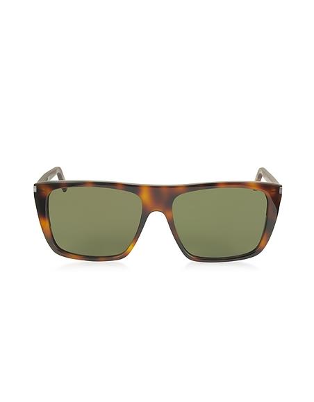 Saint Laurent SL 156 Herren-Sonnenbrille aus Acetat in quadratischer Form