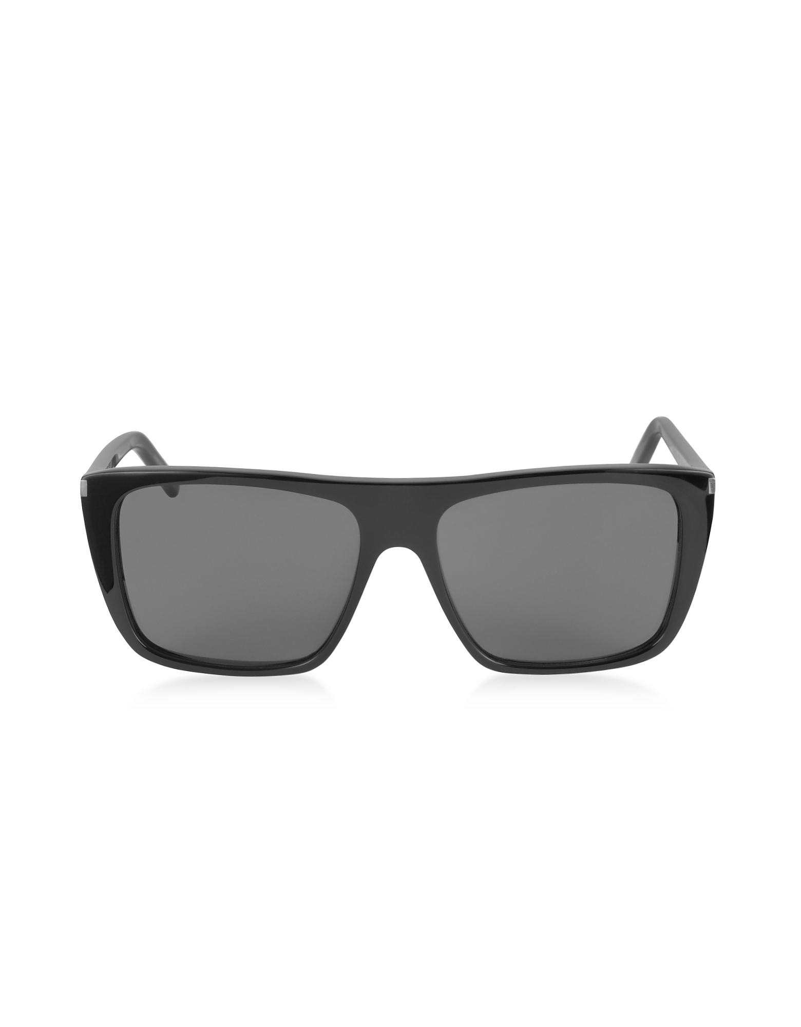 Saint Laurent Sunglasses, SL 156 Acetate Square-Frame Men's Sunglasses