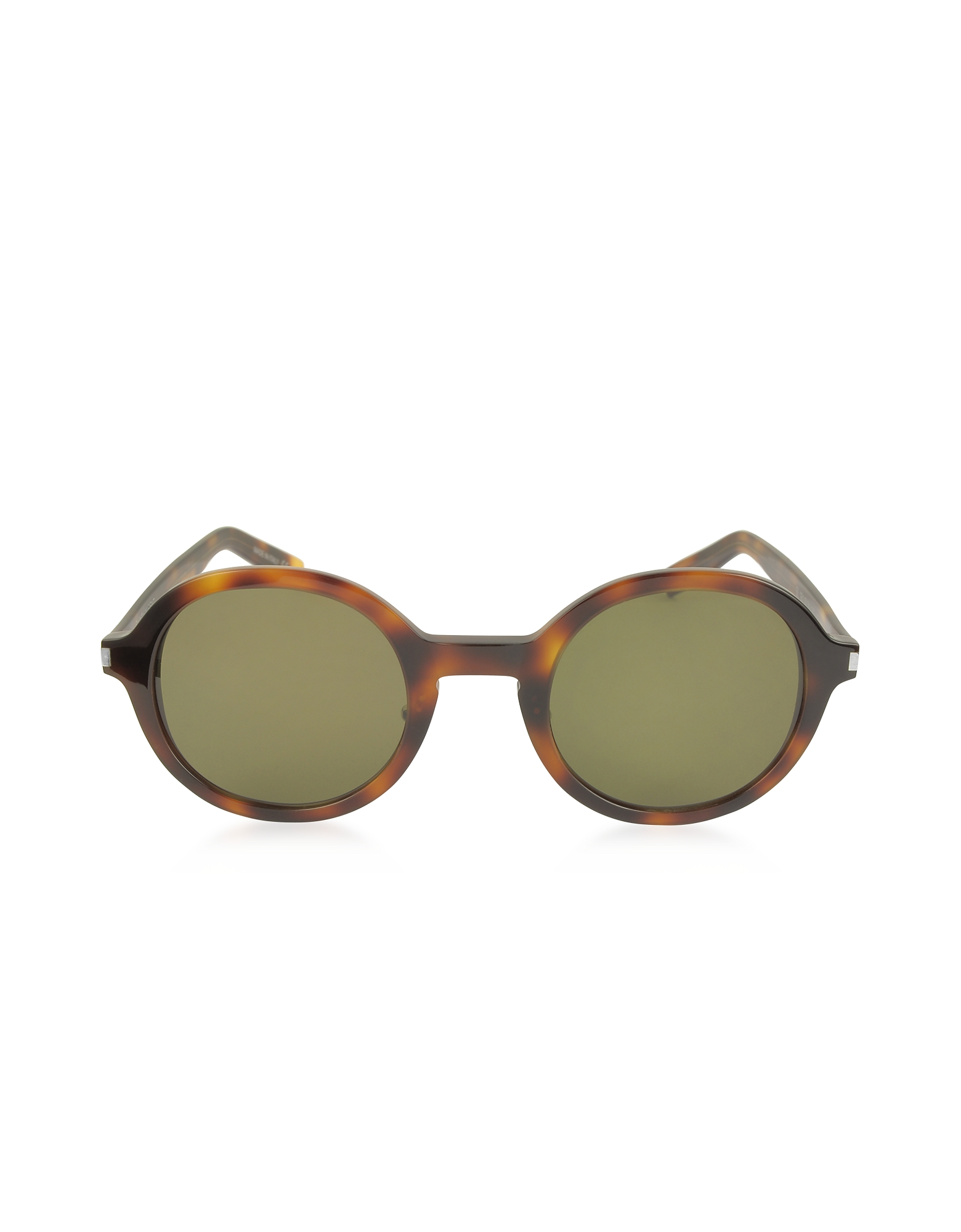 Saint Laurent Sunglasses, SL 161 Slim Acetate Round-Frame Unisex Sunglasses