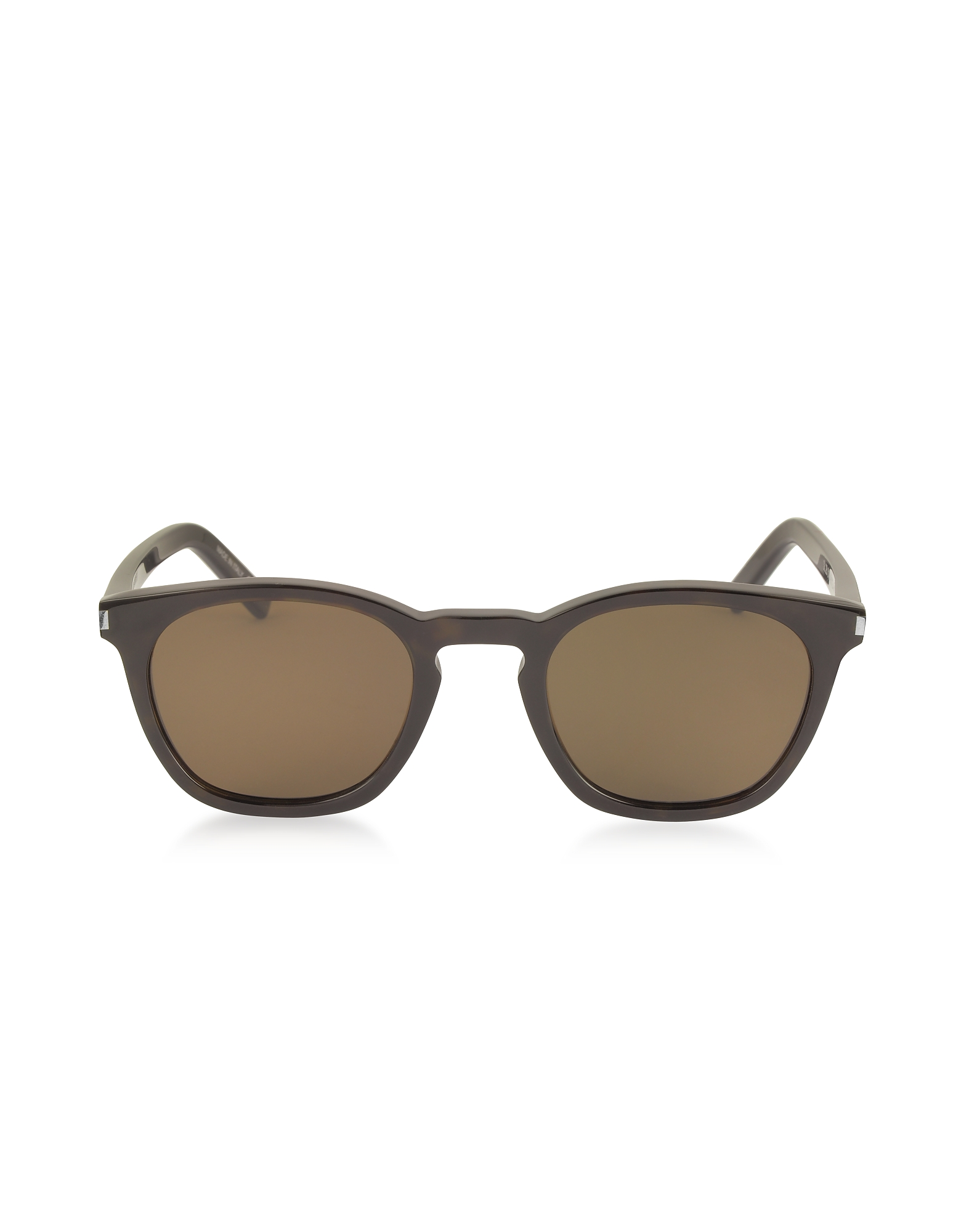 Saint Laurent Sunglasses, SL 28 Acetate Round-Frame Unisex Sunglasses