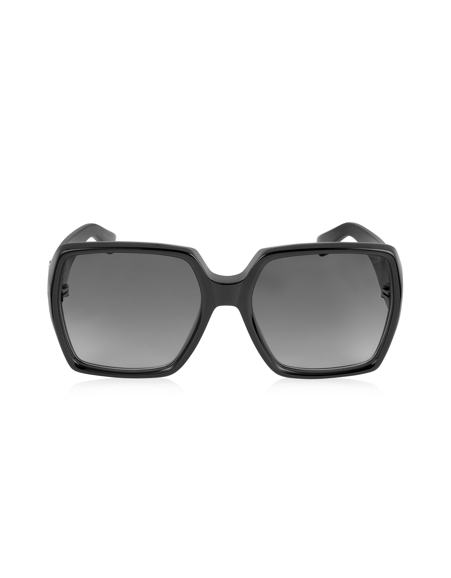 Saint Laurent Sunglasses, SL M2 Oversized Black Square-Frame Acetate Women's Sunglasses