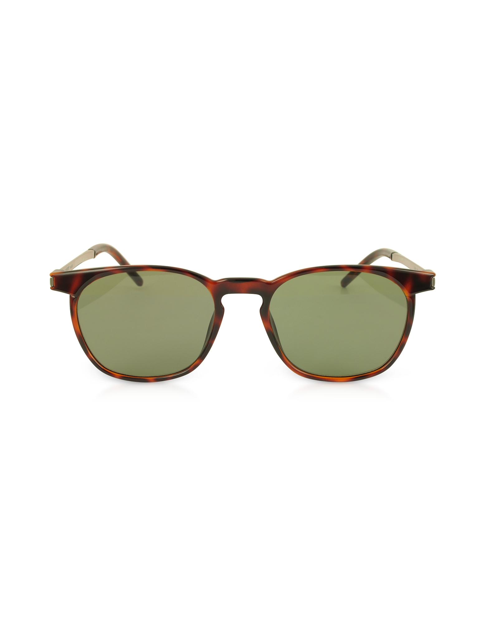 Saint Laurent Designer Sunglasses, SL 240 Acetate and Metal Squared Men's Sunglasses