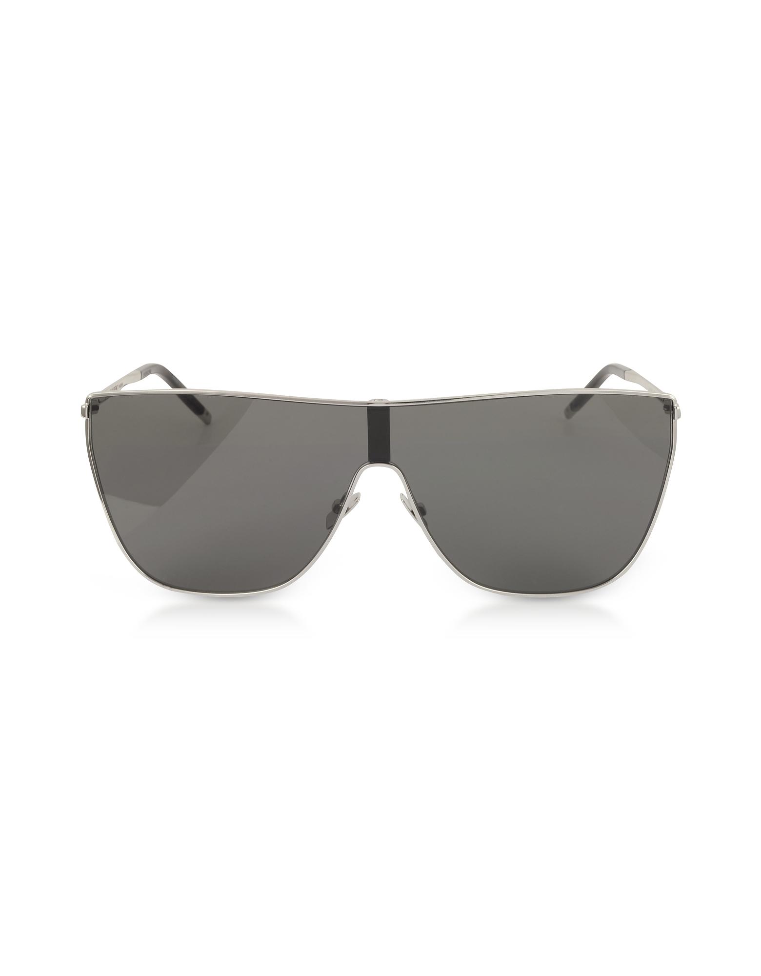 Saint Laurent Designer Sunglasses, SL1 MASK Metal Frame Men's Sunglasses