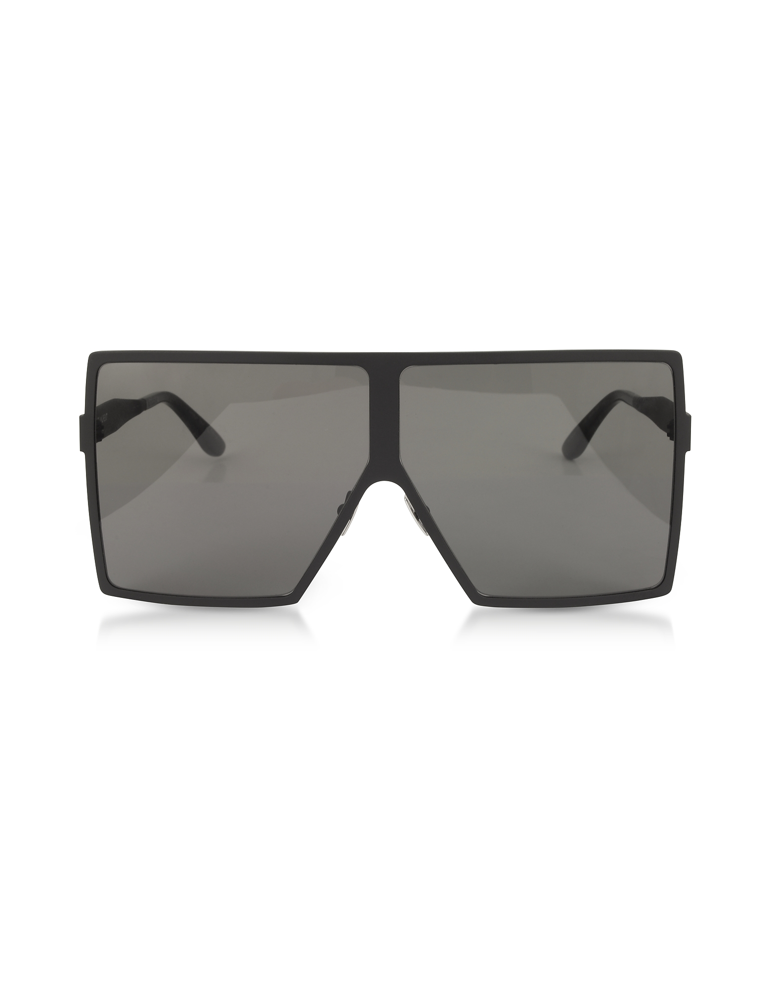New Wave 182 Matte Black Metal Betty Sunglasses